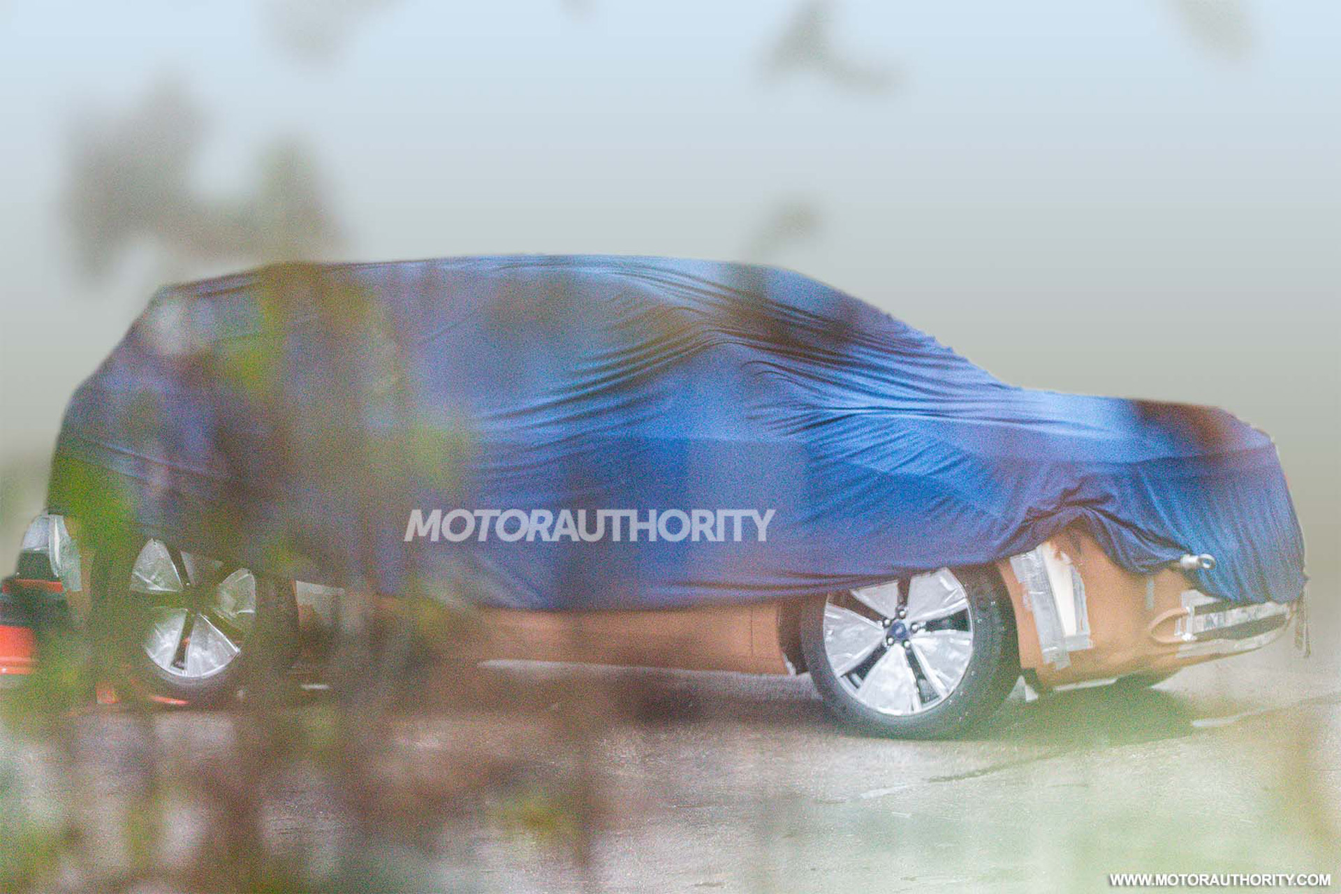 2023 Ford MEB-based electric crossover spy shots: Ford's twin to the VW ID.4 takes shape
