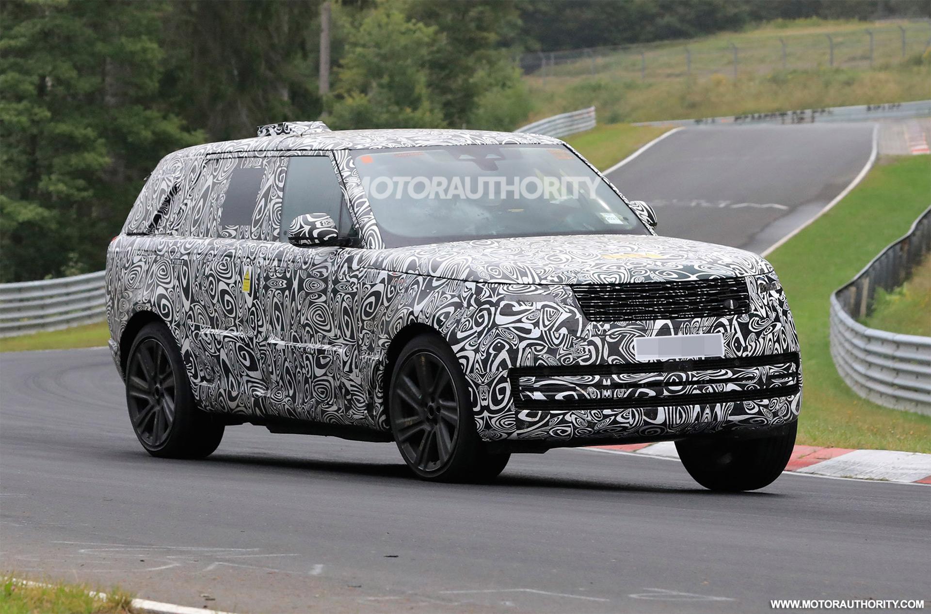 2023 Land Rover Range Rover spy shots and video: Familiar look belies new platform