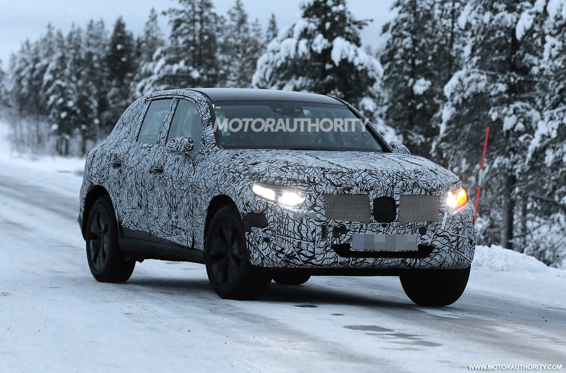2023 Mercedes-Benz GLC-Class spy shots: Popular crossover coming in for redesign
