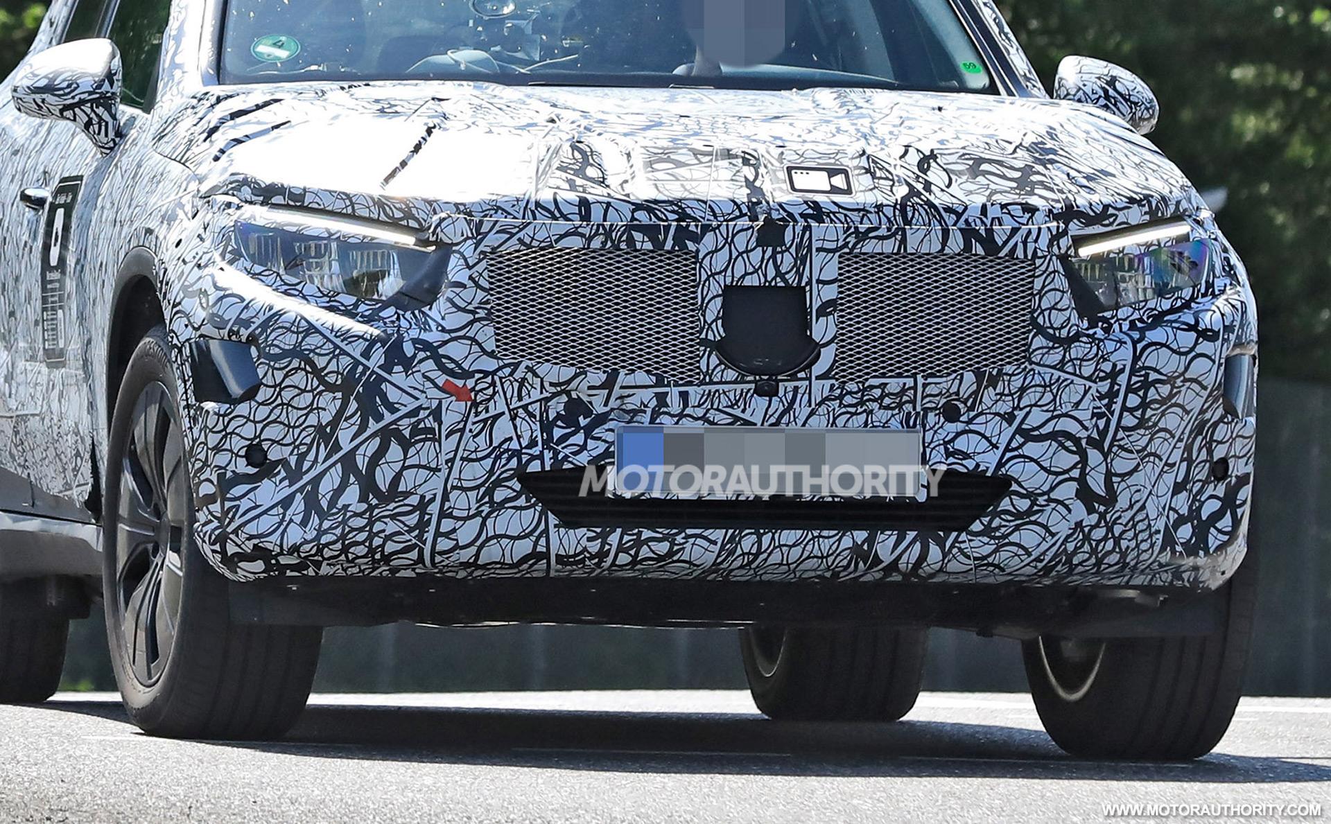 Fotos espía de Mercedes-Benz GLC-Class 2023 - Crédito de la foto: S. Baldauf / SB-Medien