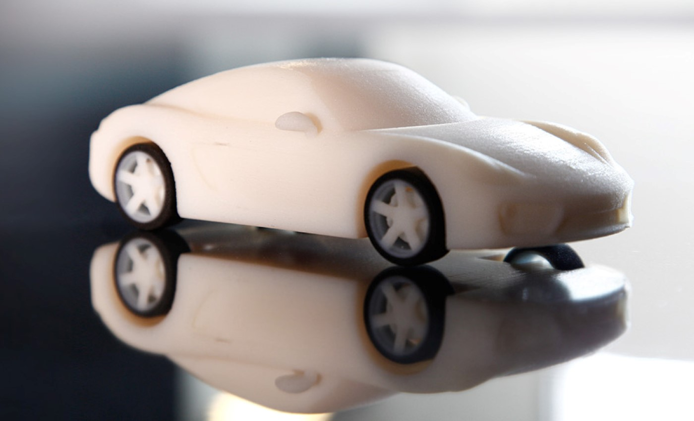 Want A Cayman? Porsche Lets You Print (A Small) One In 3D