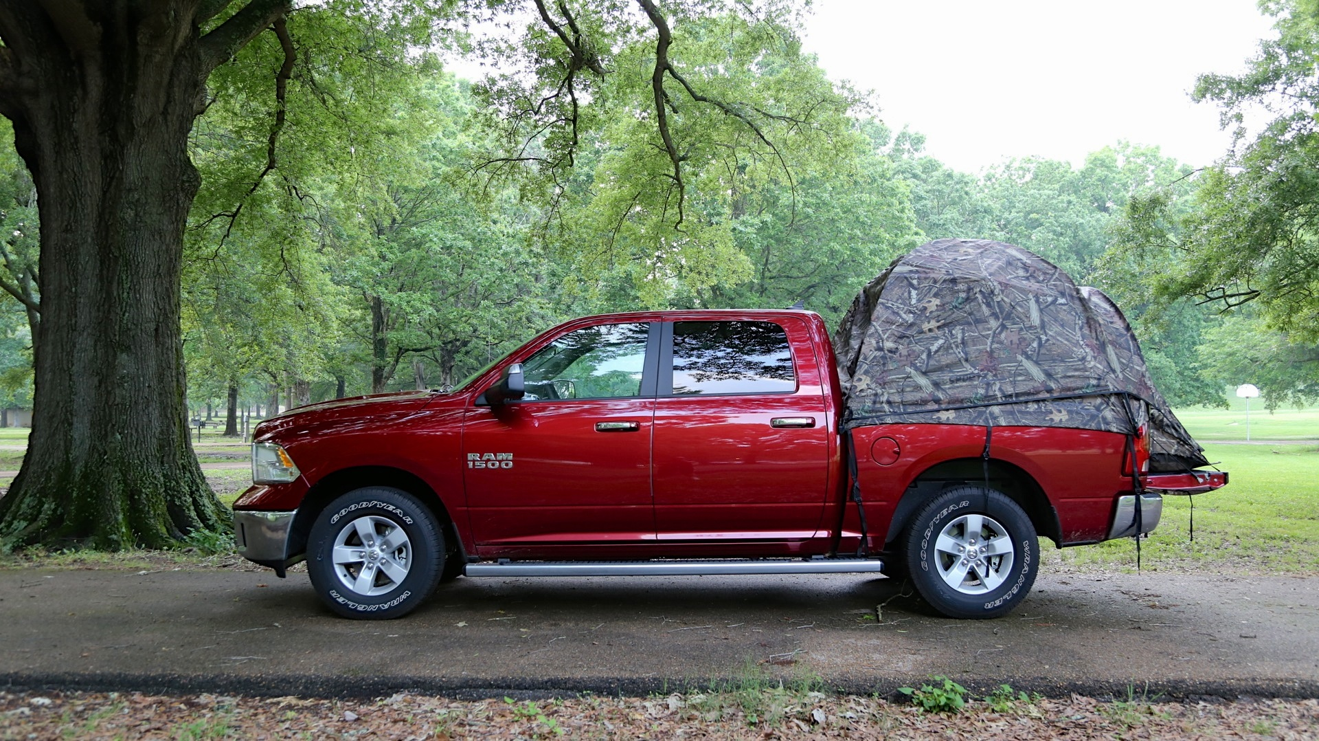 & 30 Days Of 2013 Ram 1500: Camping In Your Truck