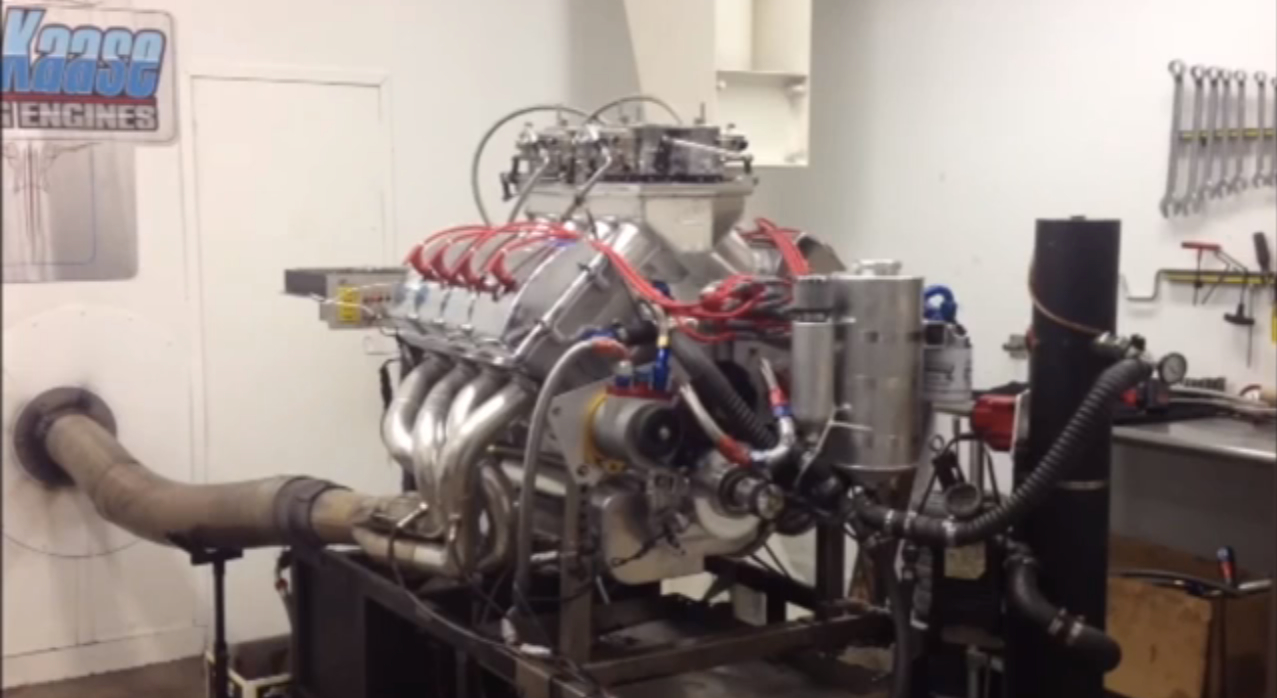 828ci Ford V-8 Turns 2,000 Naturally-Aspirated Horsepower On Dyno