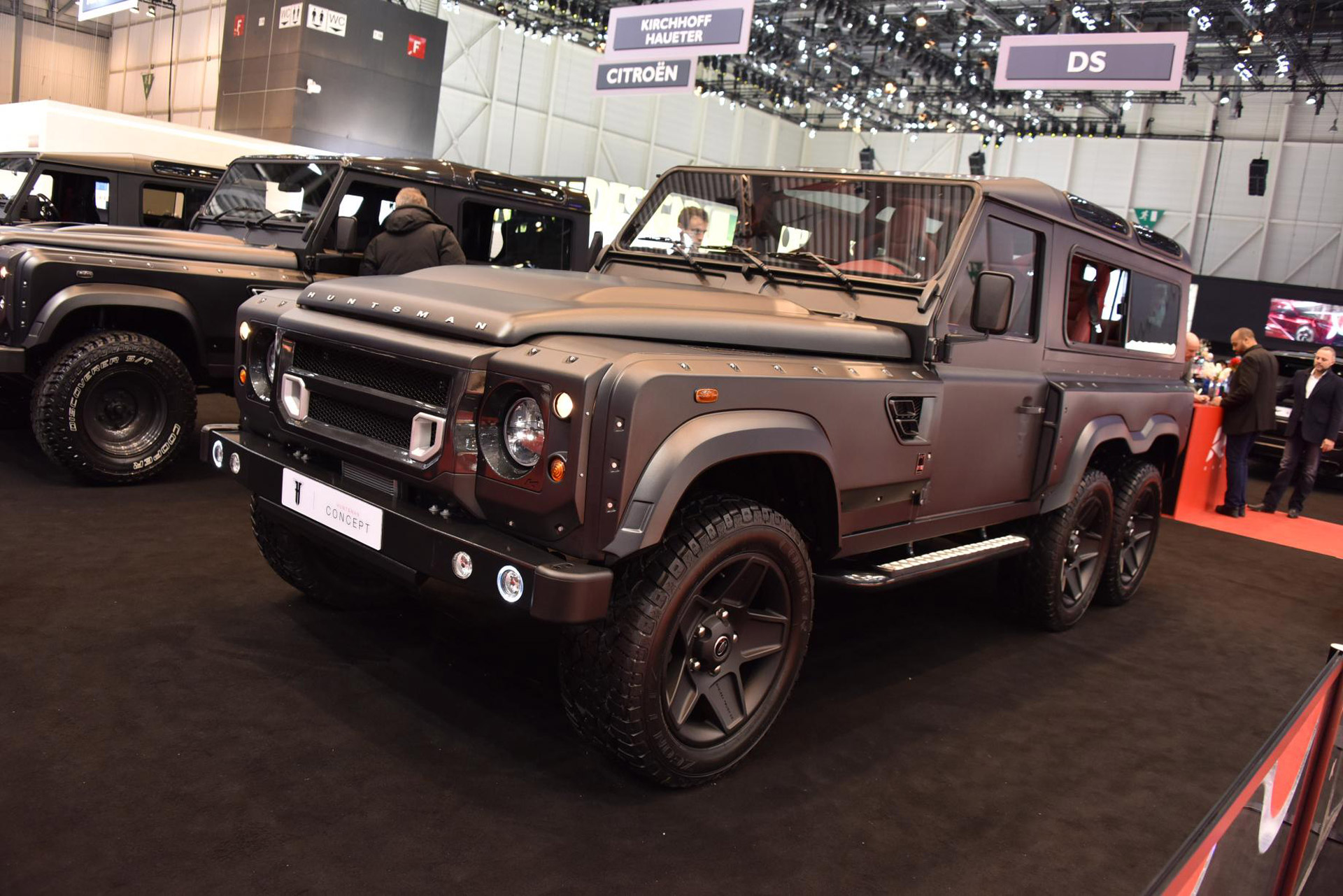 Kahn Design Builds Land Rover Defender Based 6x6