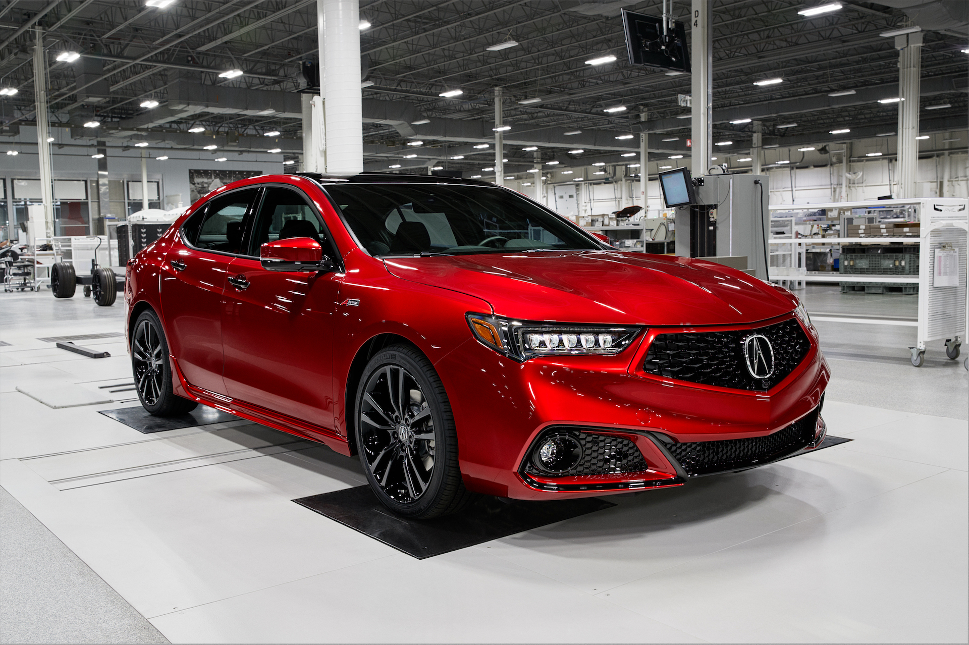 Hand Assembled 2020 Acura Tlx Pmc Edition Price Reflects A Value