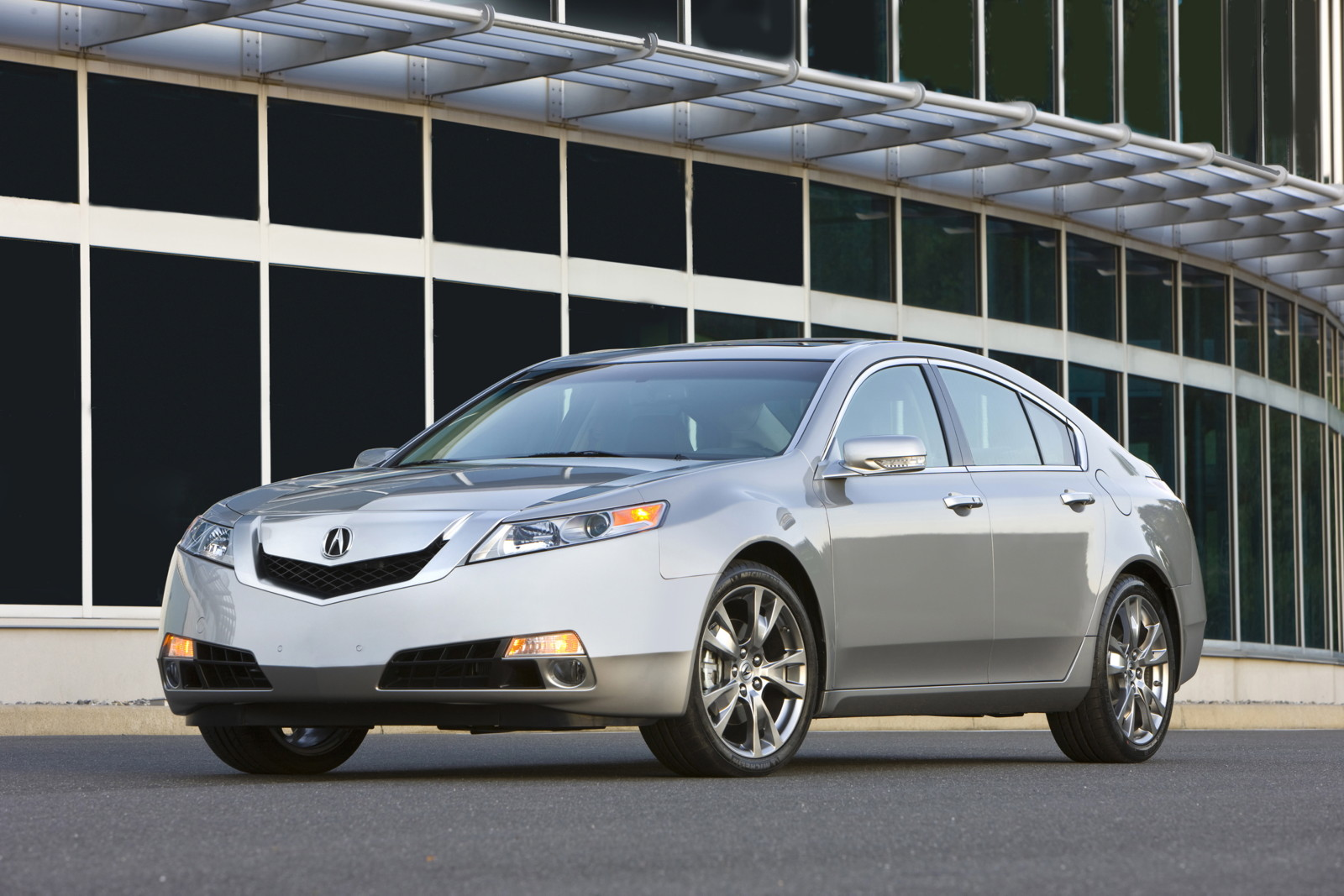 Driven 2010 Acura Tl Sh Awd
