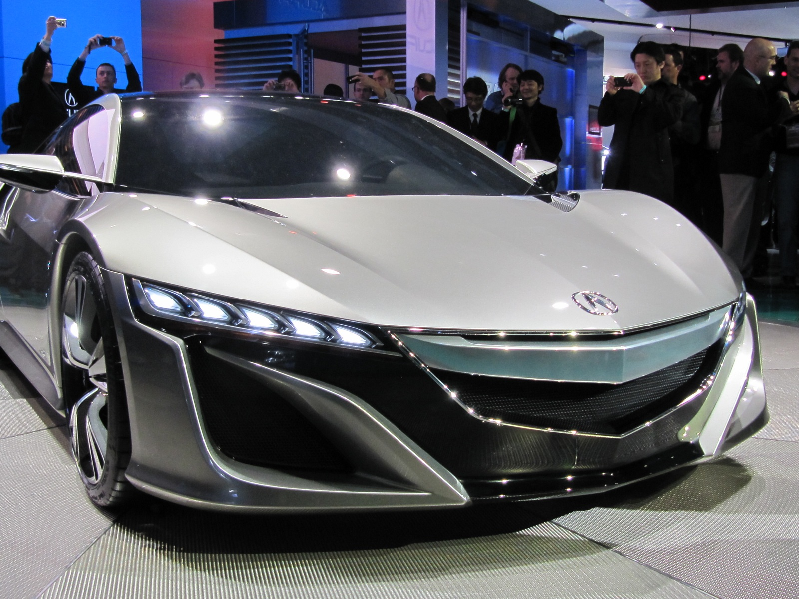 2014 Acura Nsx Hybrid Supercar Will Debut January In Detroit
