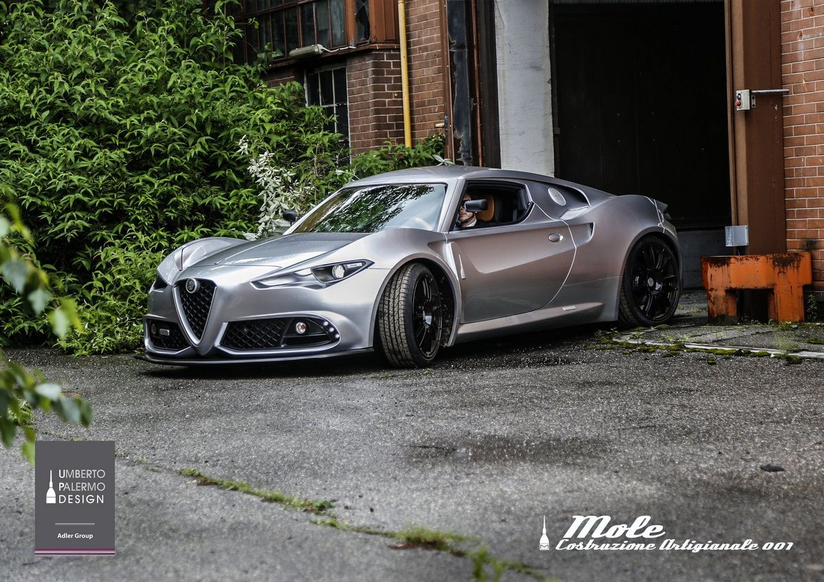 Coach Built Alfa Romeo 4c Is A Stunner Inside And Out