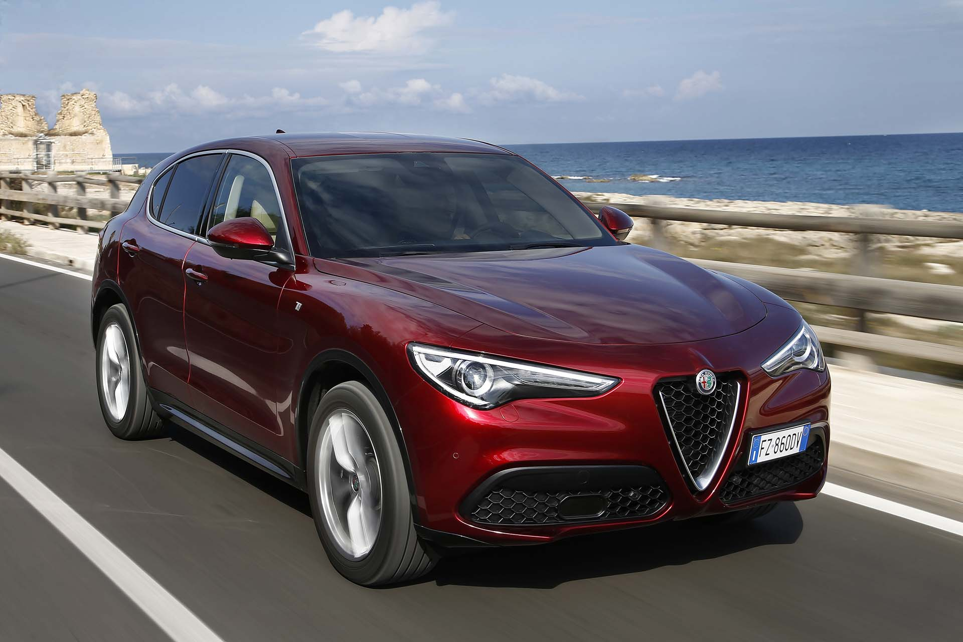 2020 Alfa Romeo Stelvio Review Ratings Specs Prices And Photos The Car Connection