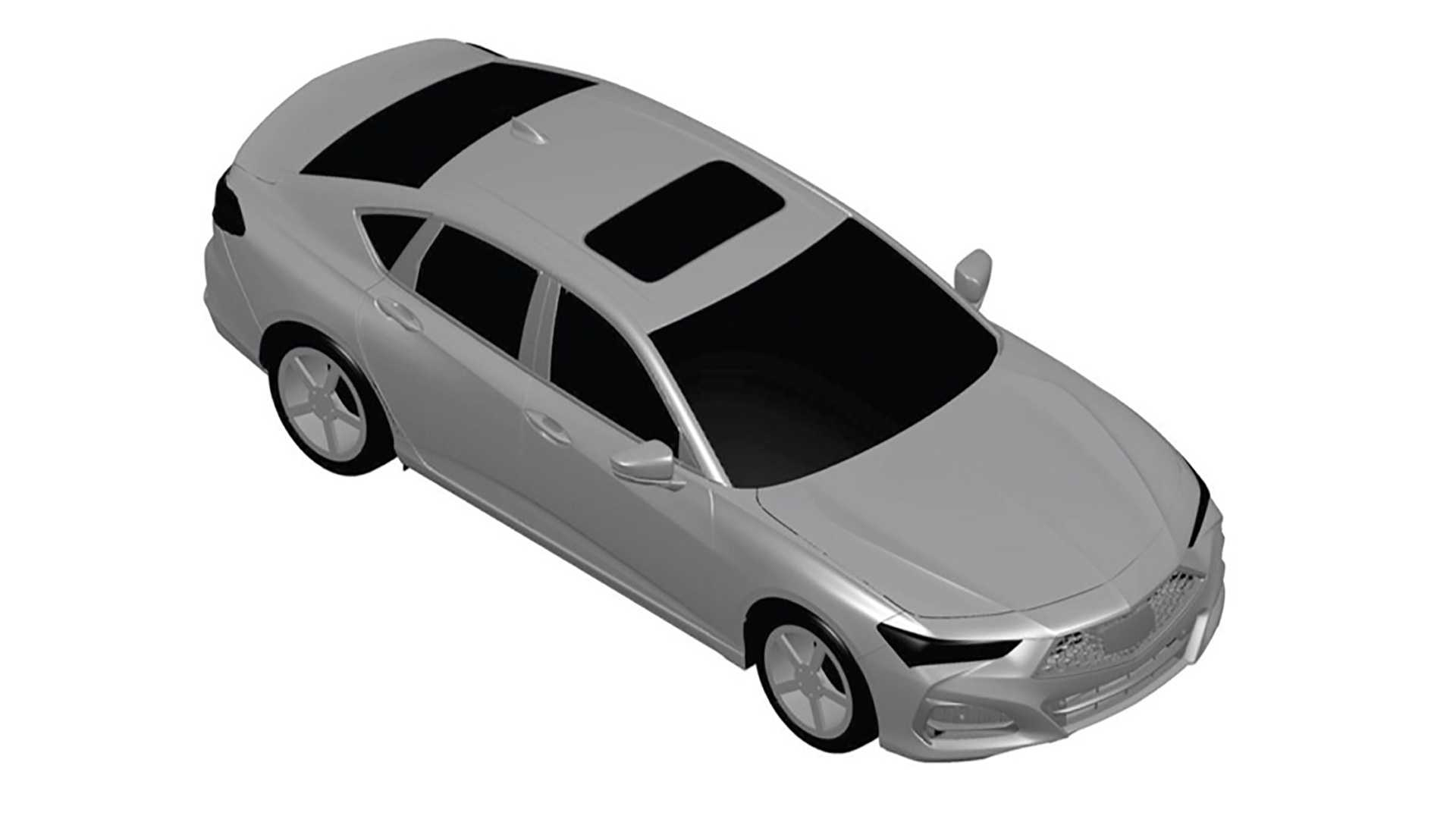 alleged patent drawings may hint at redesigned 2021 acura