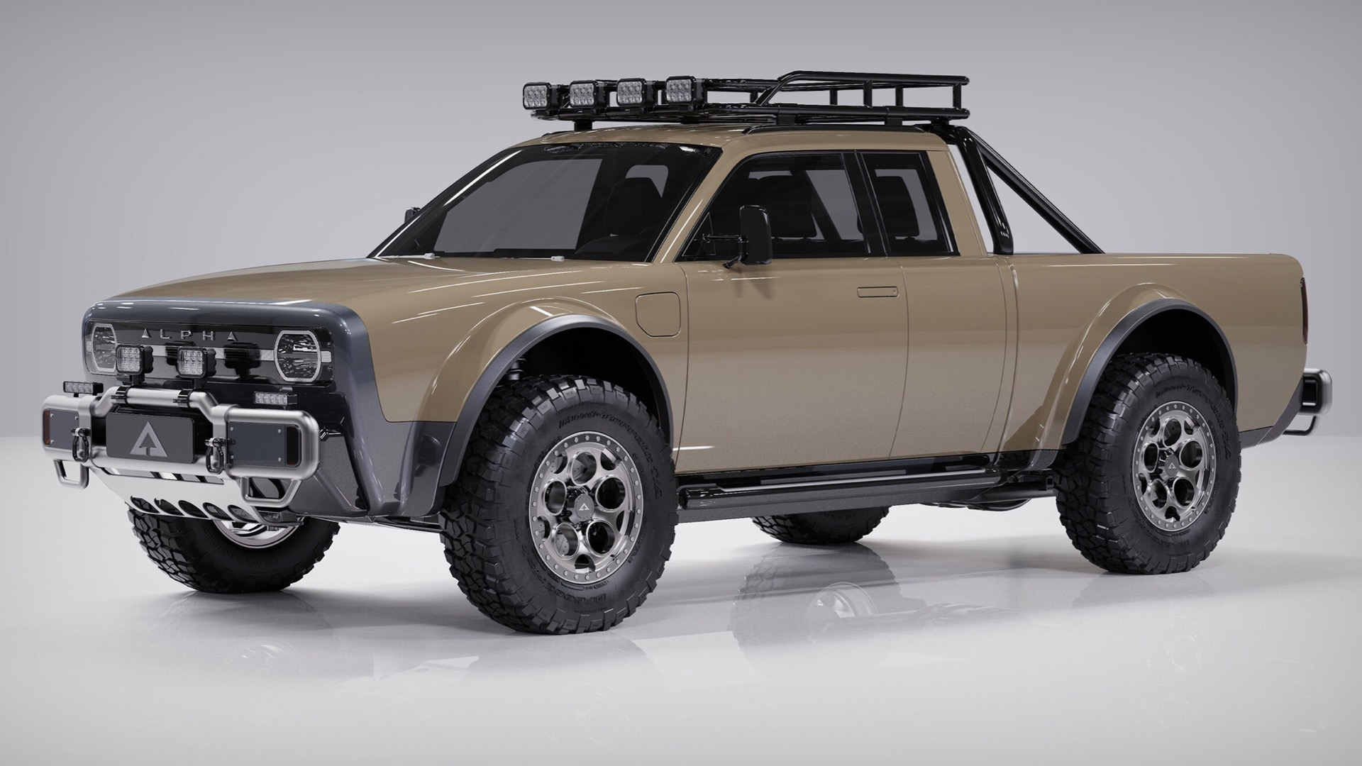 The Alpha Wolf+ might be the perfect electric pickup truck