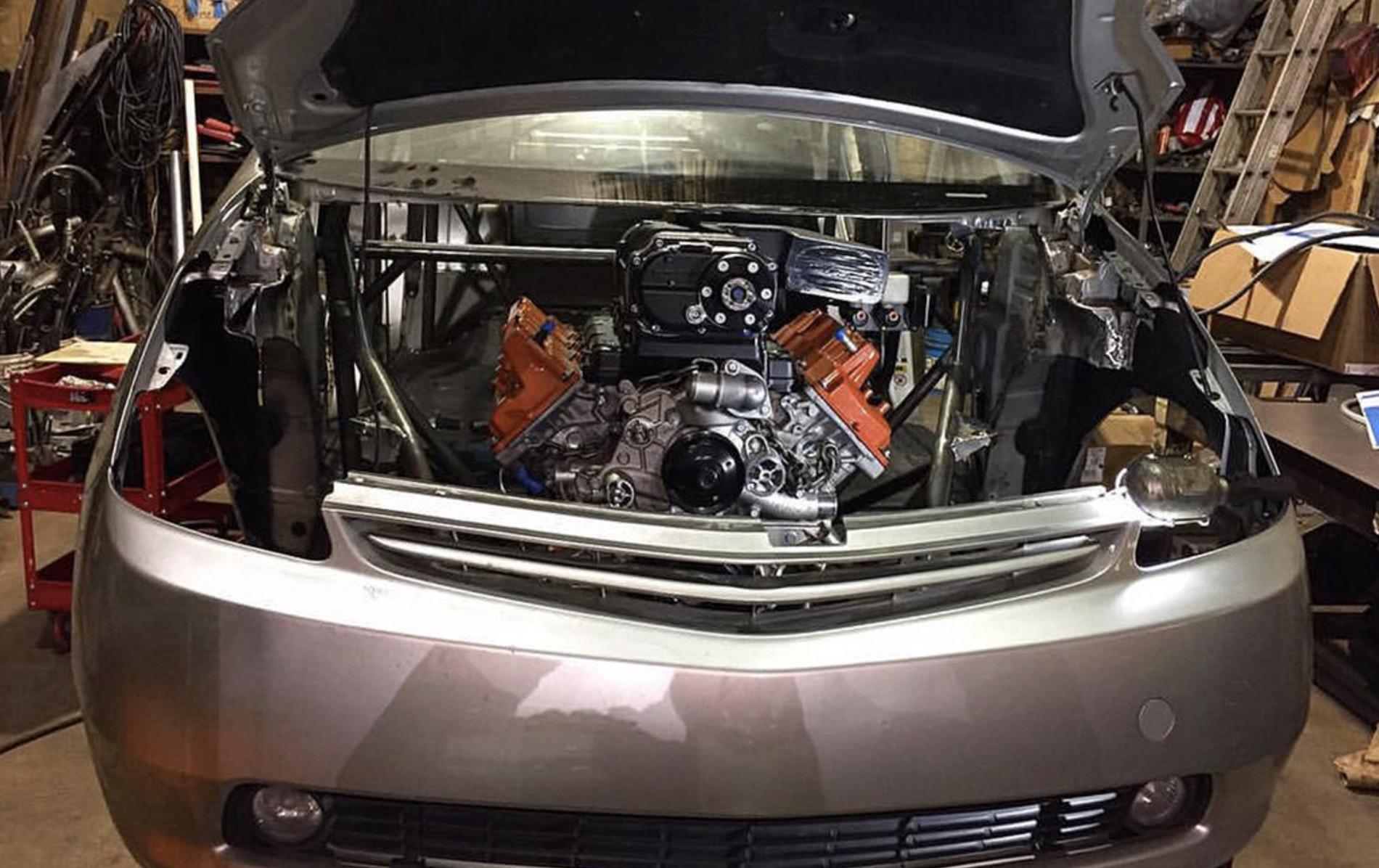 American Racing Headers Hellcat Powered Prius H