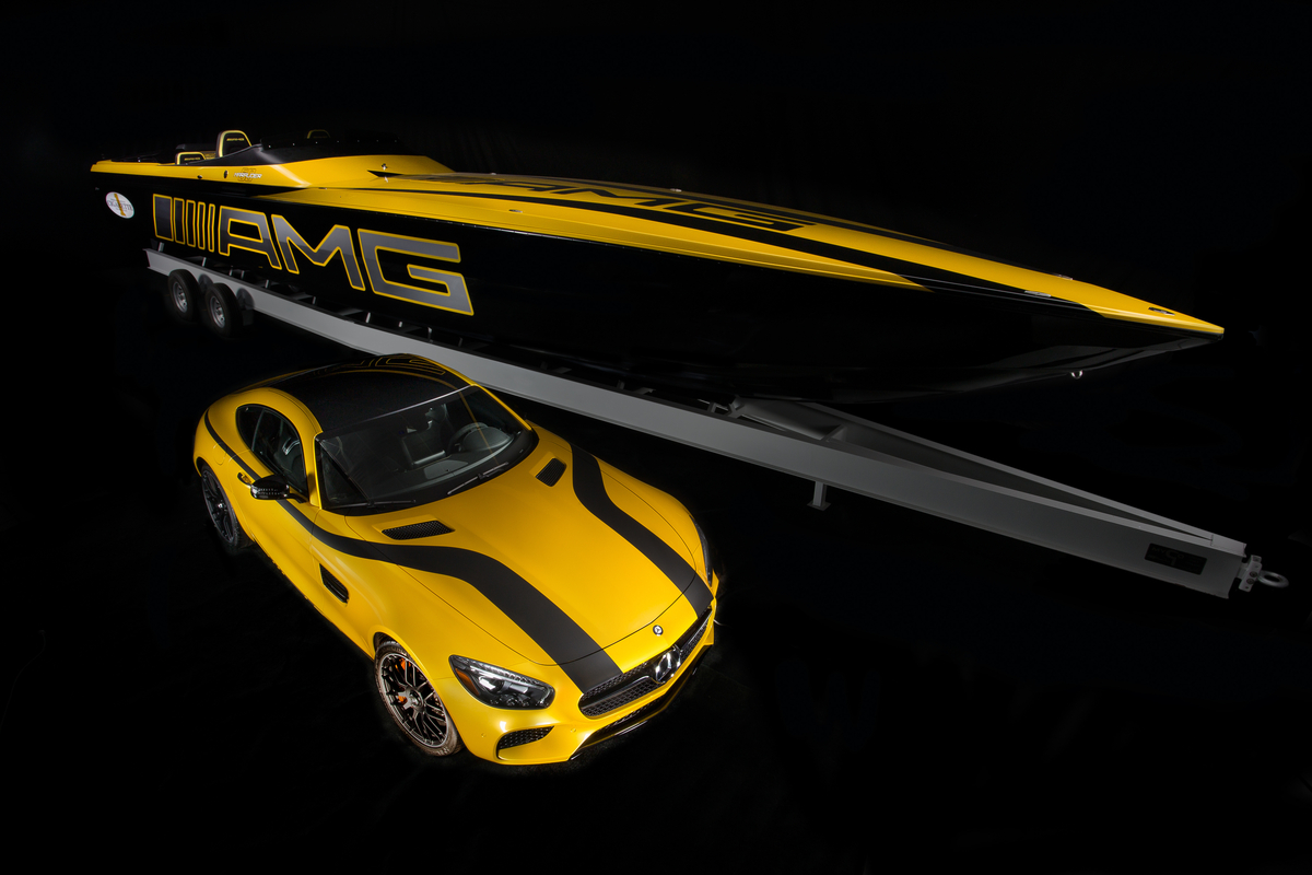 Mercedes-AMG And Cigarette Racing Partnership Makes For Smoking Hot Boat