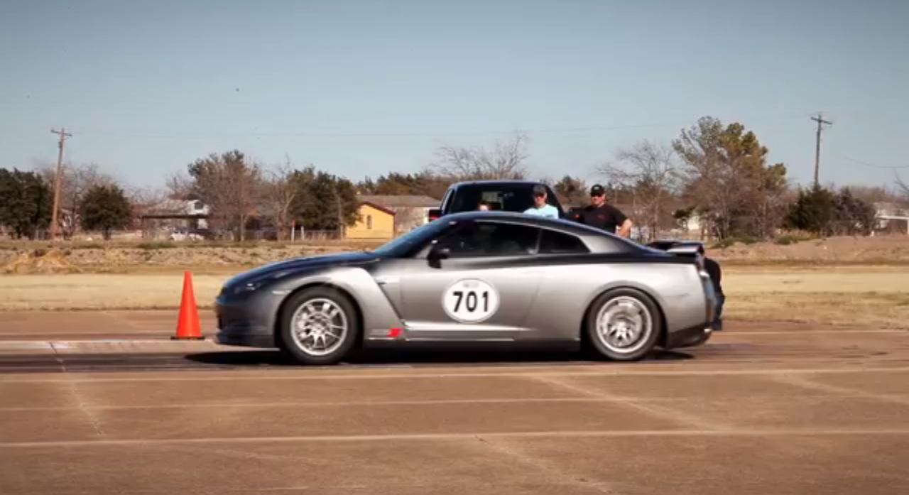 Alpha Nissan GT-R Destroys The Quarter Mile In 8.11: Video