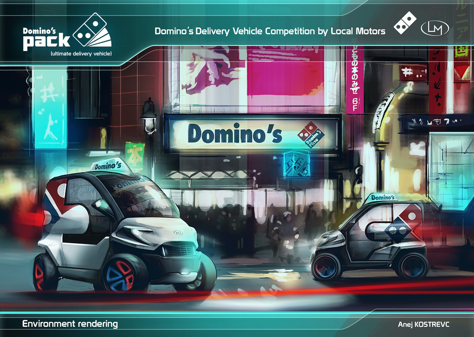 Local Motors Rally Fighter >> Local Motors And Domino's Select Ultimate Delivery Vehicle Design
