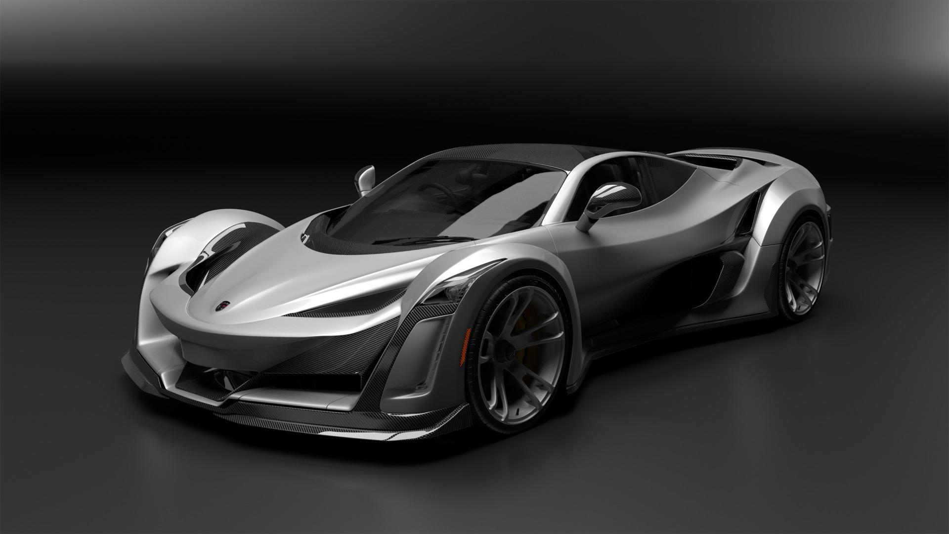 Canada S Anibal Shows Horsepower Supercar Based On Porsche