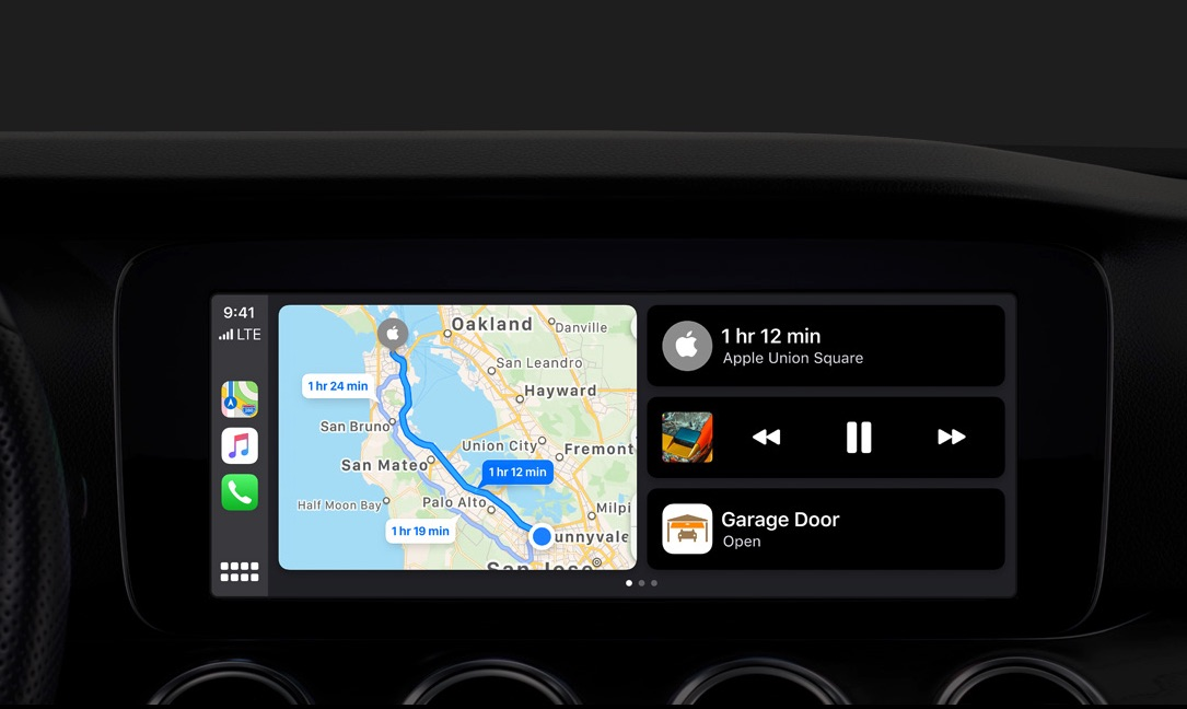 iOS 13 bringing updated Apple CarPlay to vehicles this fall