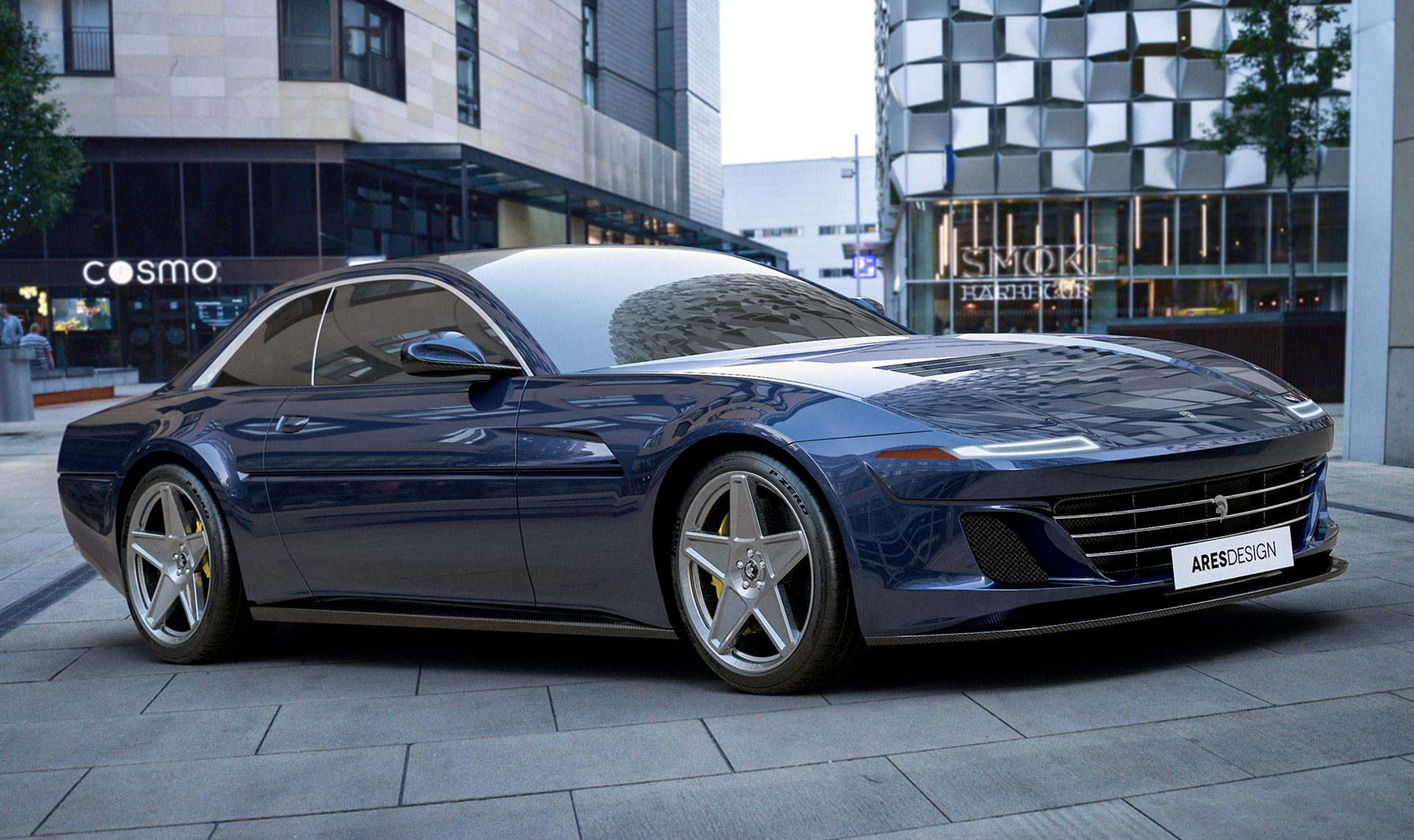 Ares turns the Ferrari GTC4 Lusso into a modern 412