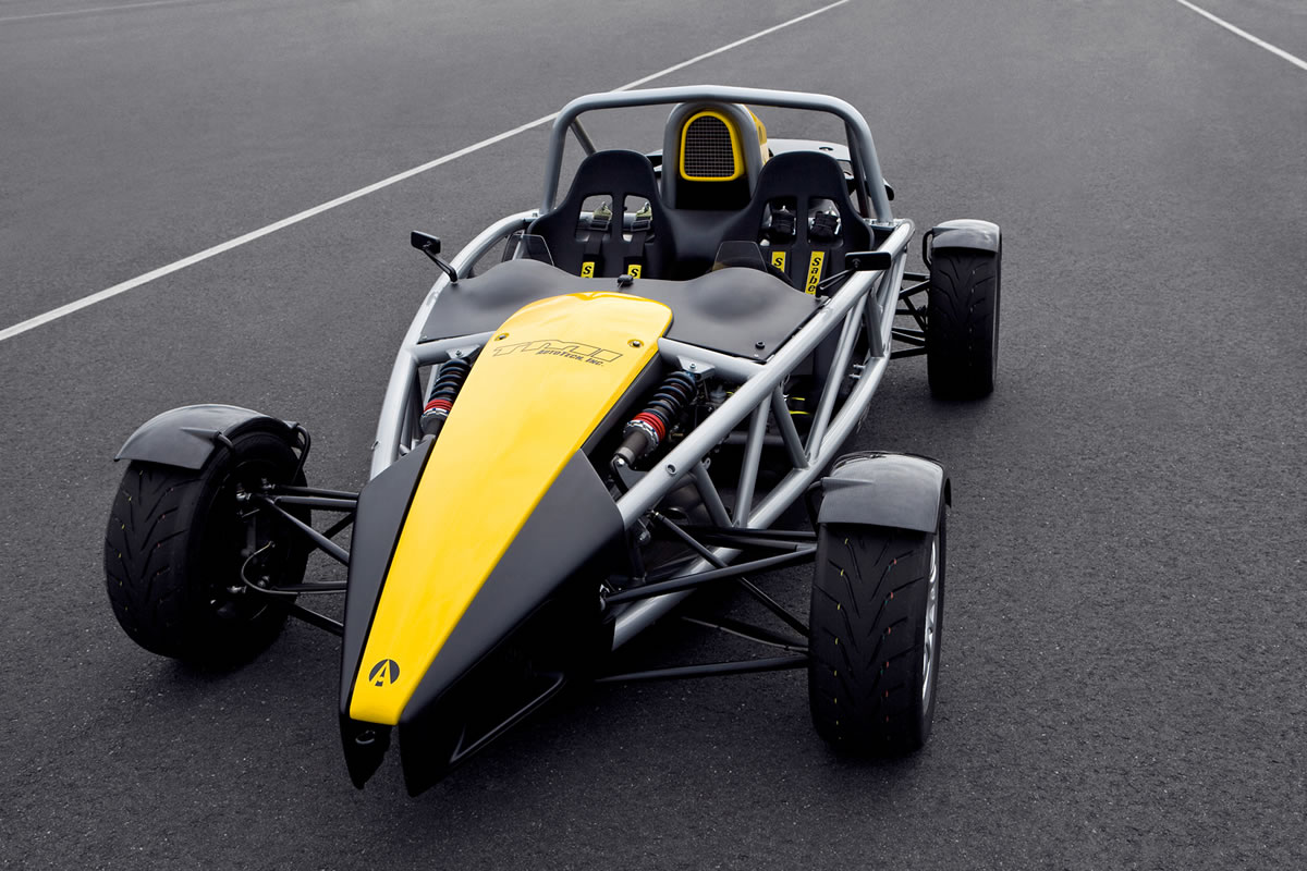 V 8 Powered Ariel Atom Nears Production