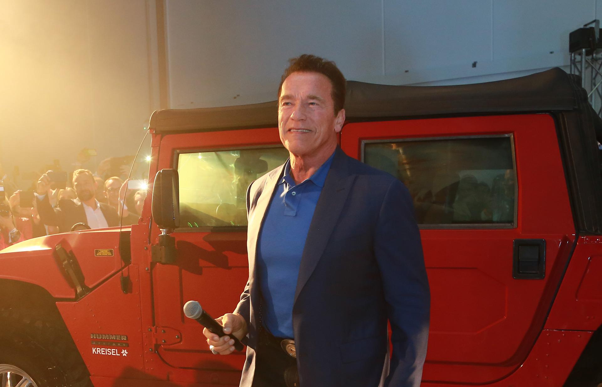 Arnold Schwarzenegger S Dream Of An Electric Hummer H1 Comes True Thanks To Kreisel