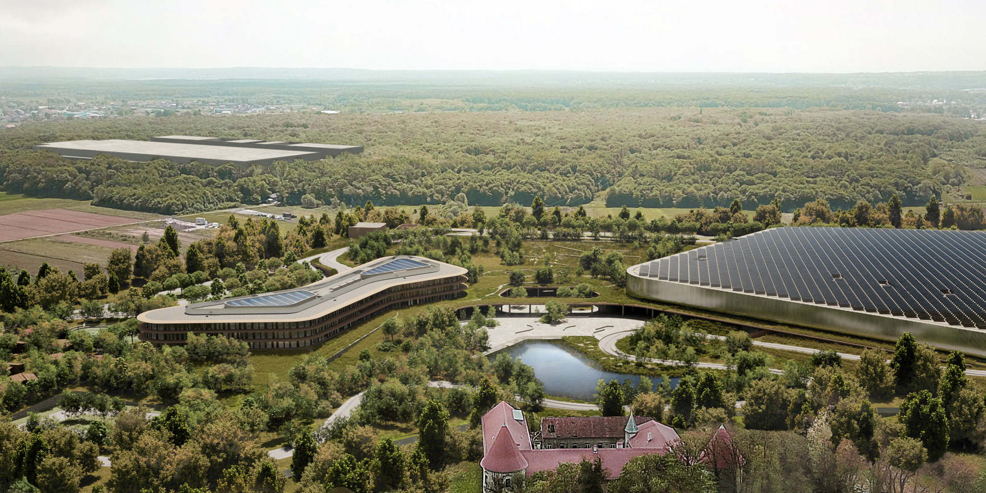 Rimac reveals plans for new headquarters and technology campus