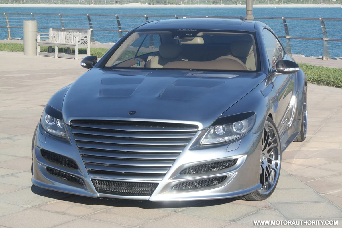 Mercedes Benz Cl Class News Breaking Photos Videos Page 2008 Cls 550 Wide Kit Phantasma 65 Amg Tuning Gone Wrong