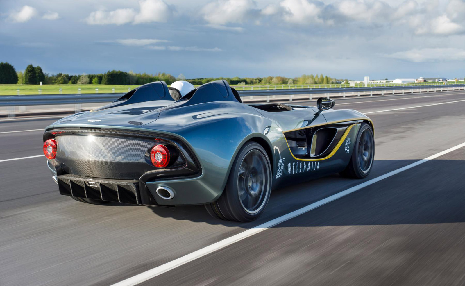 Aston Martin Builds And Sells Two CC100 Speedsters: Report