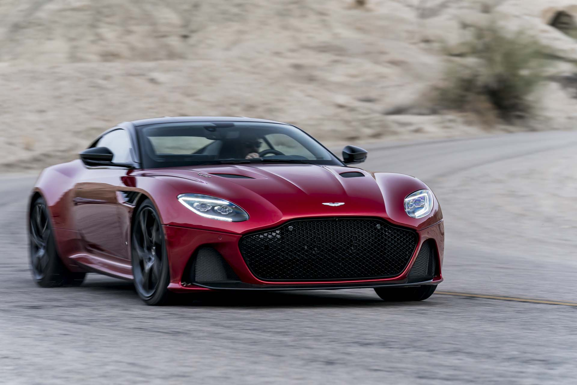 Aston Martin DBS Superleggera Debuts With Horsepower - How many aston martin dbs were made