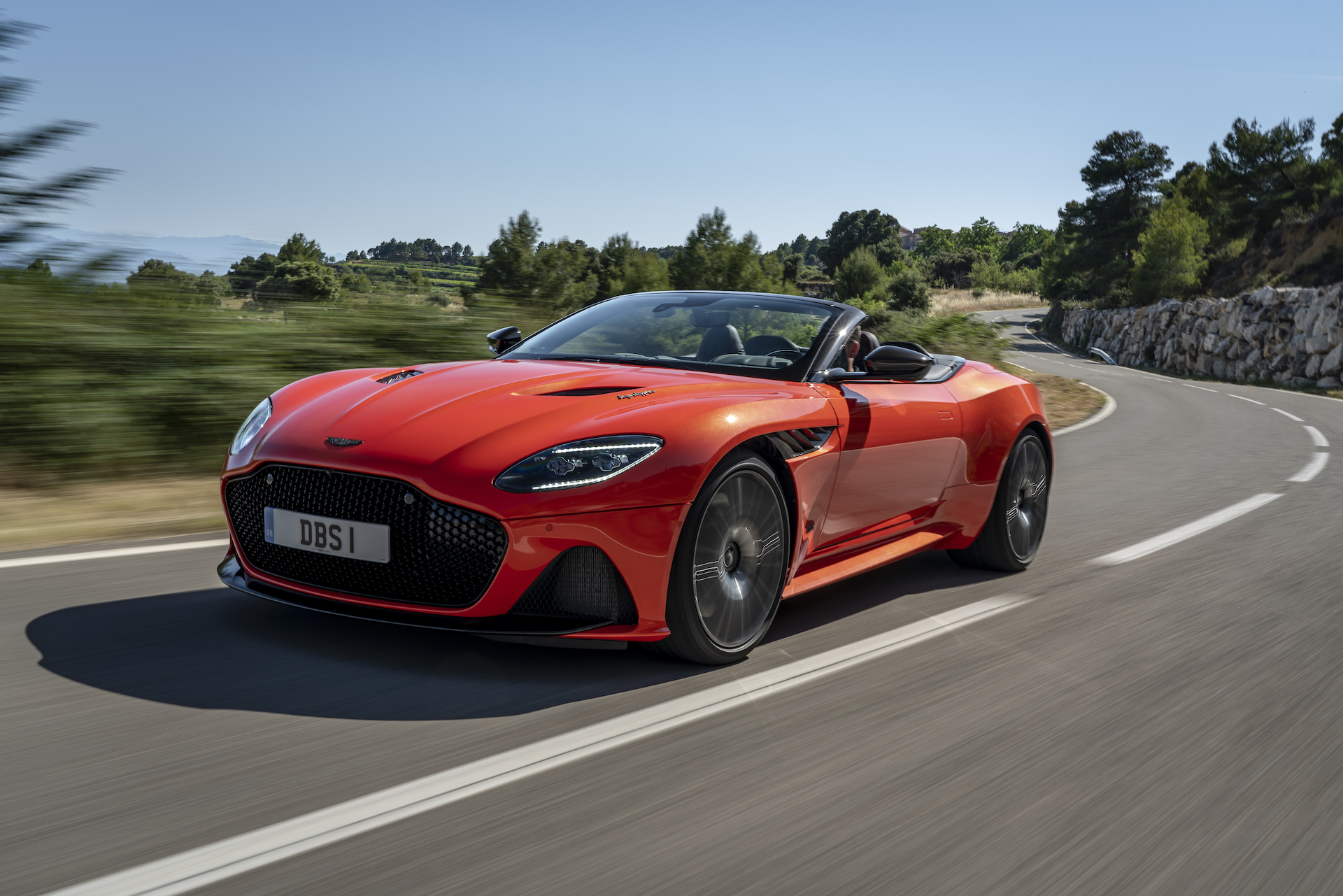 First Drive Review 2020 Aston Martin Dbs Superleggera Volante Is The Right Light