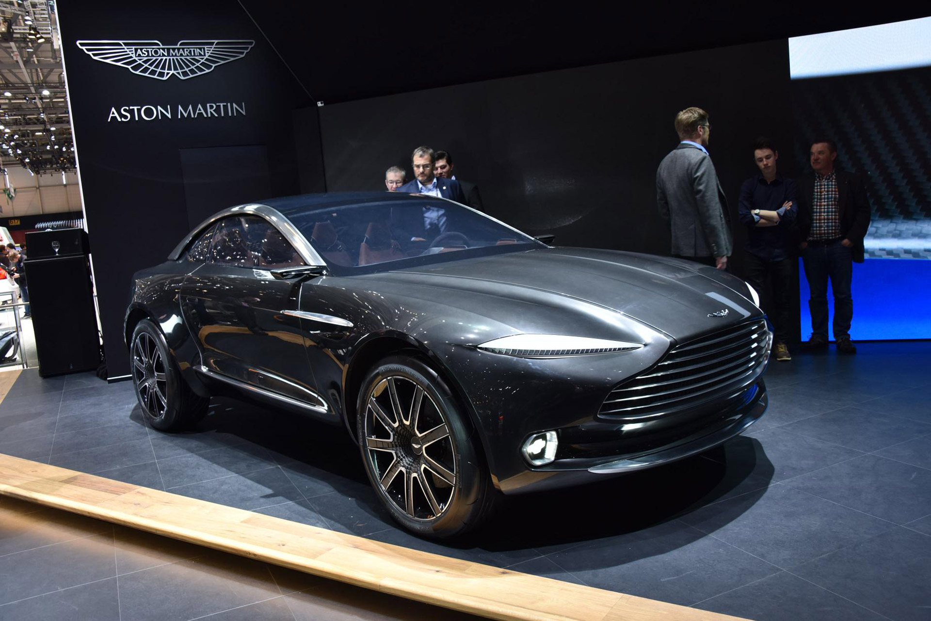 Aston Martin DBX concept is an all electric off roading sports car