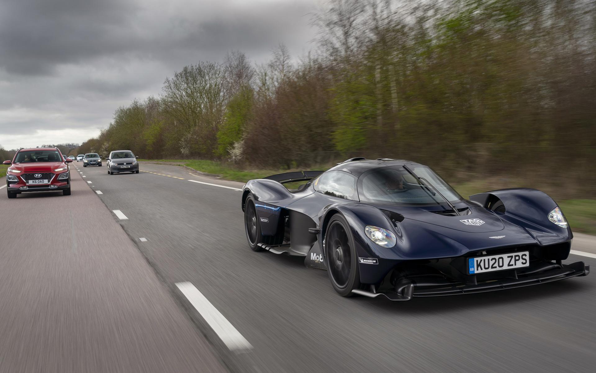Aston Martin Valkyrie Finally Hits The Road