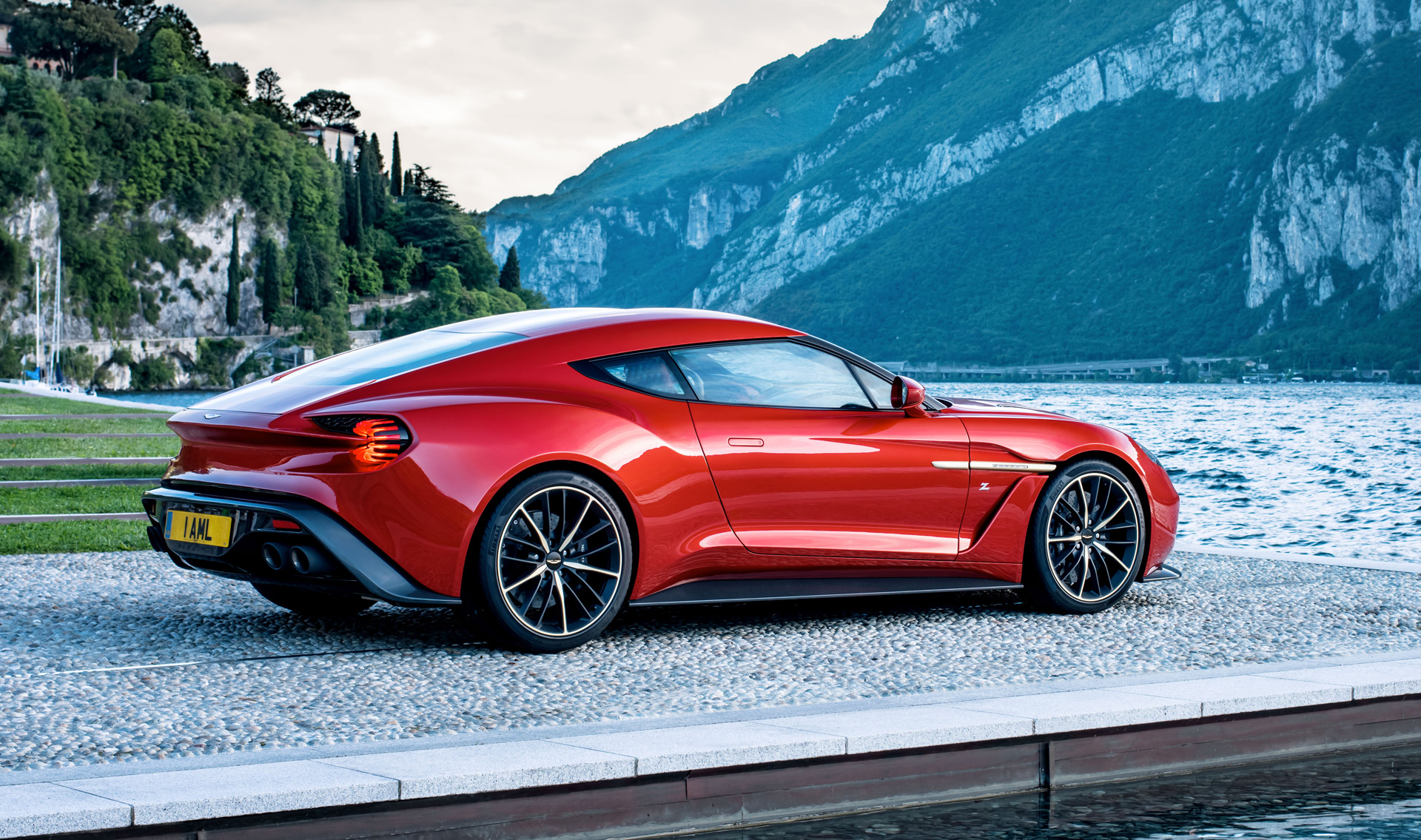 1104615 aston Martin To Build 99 Vanquish Zagato Coupes on audi 100 series