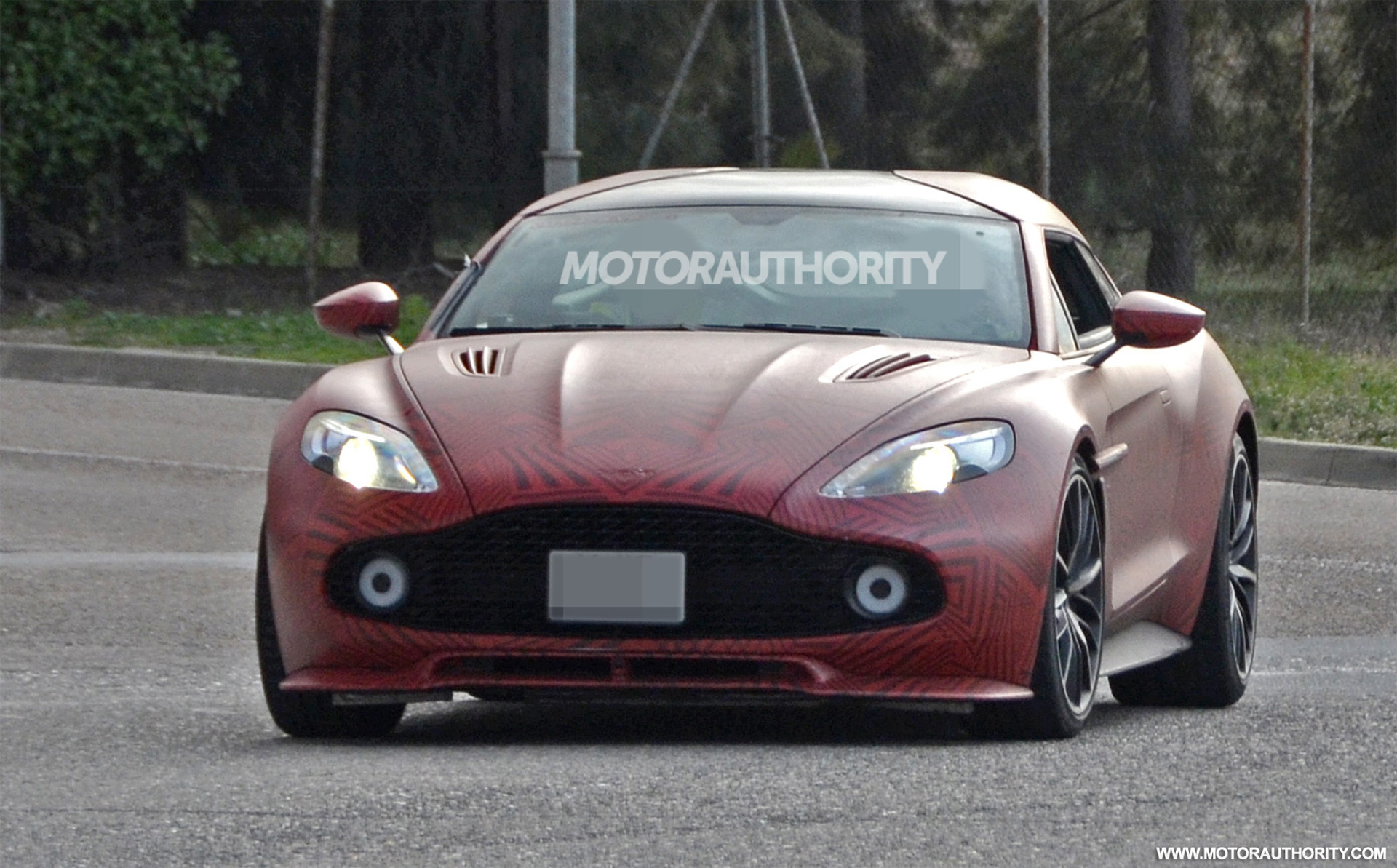 Aston Martin Zagato Shooting Brake Spied On The Road