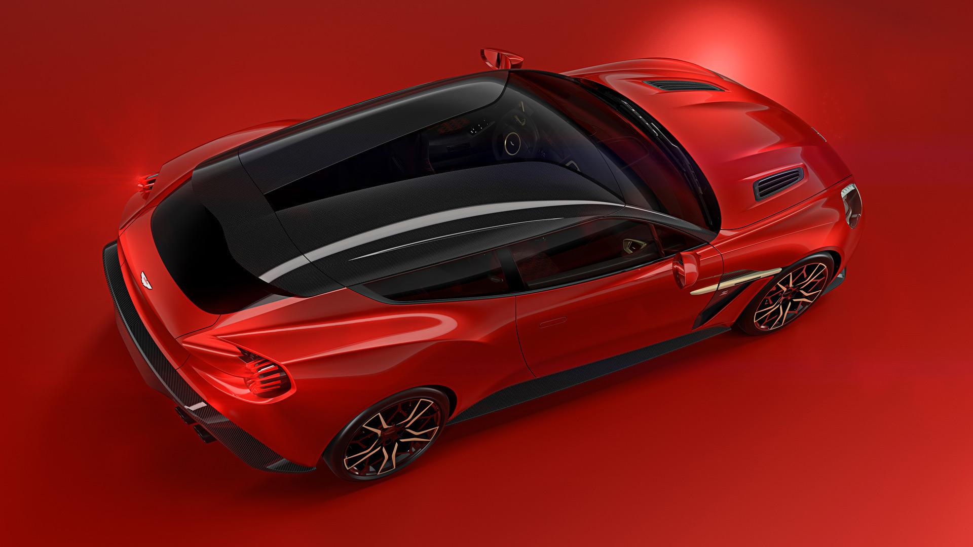 Aston Martin Reveals More Of Its Vanquish Zagato Shooting Brake - Aston martin vanquish zagato
