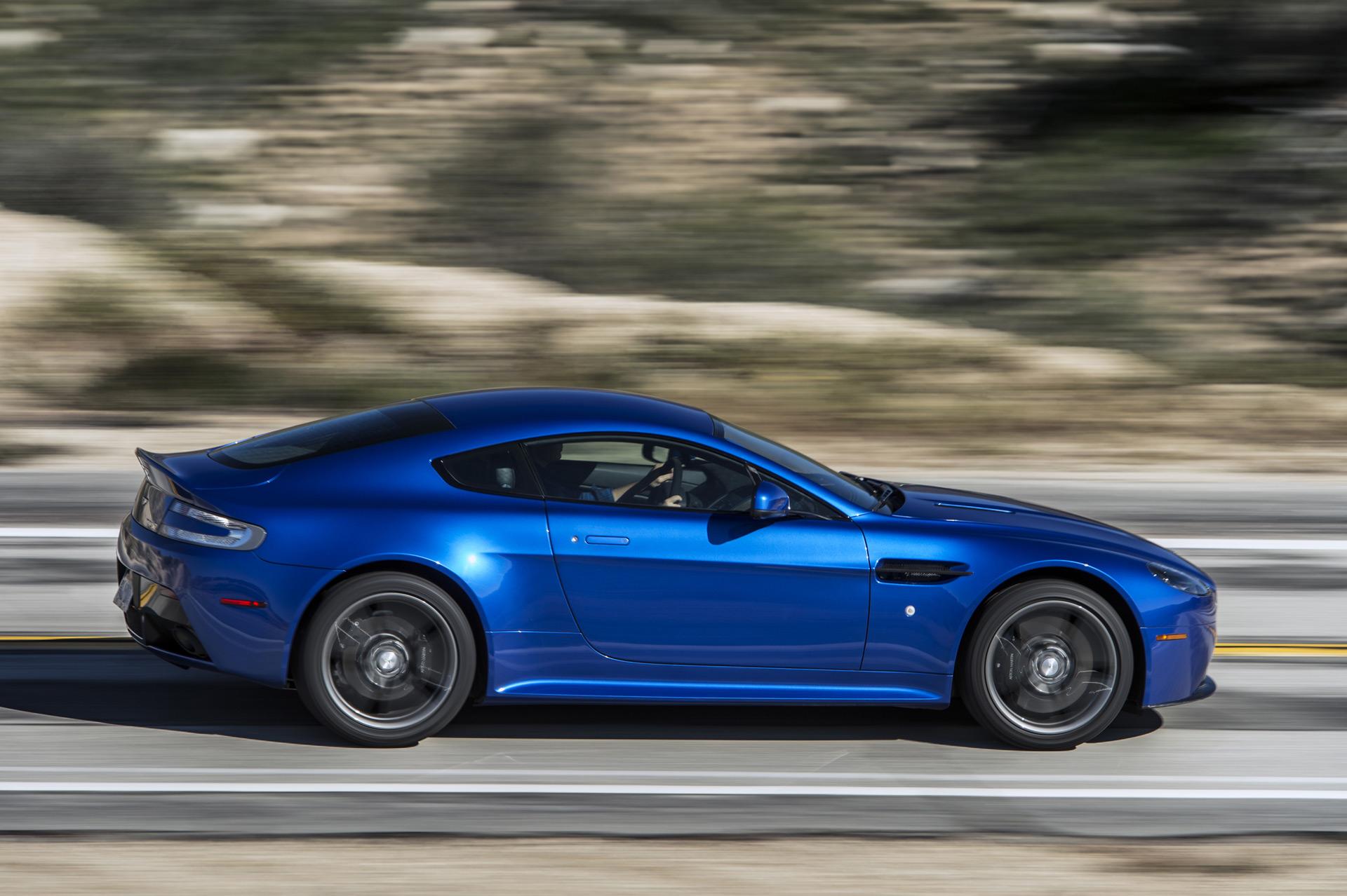 2017 Aston Martin Vantage preview