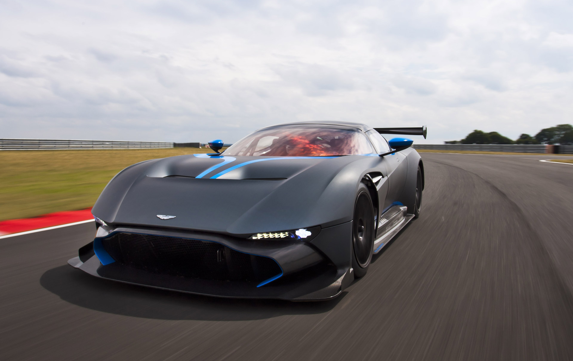 Go On A Lap Of Le Mans In An Aston Martin Vulcan