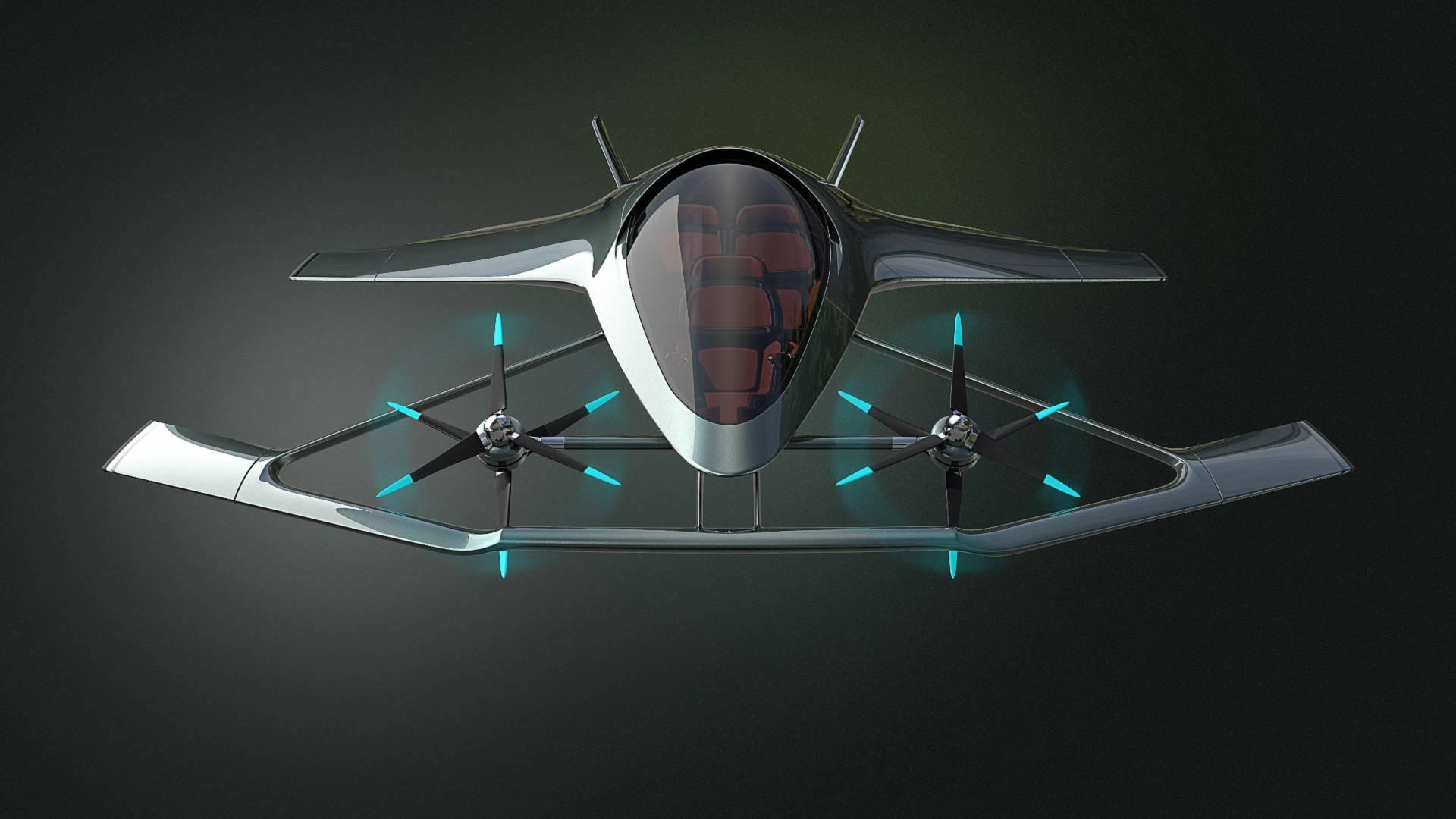 Airborne Luxury Aston Martin Debuts Volante Vision Vtol Concept