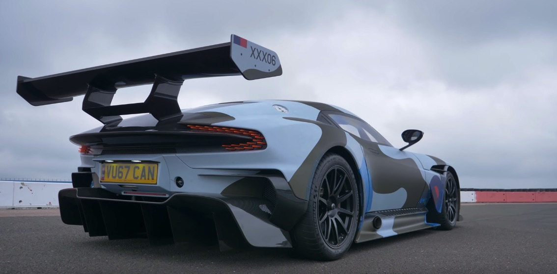 Ahead Of Gumball 3000 Rally See What Makes This Aston Martin Vulcan Road Legal