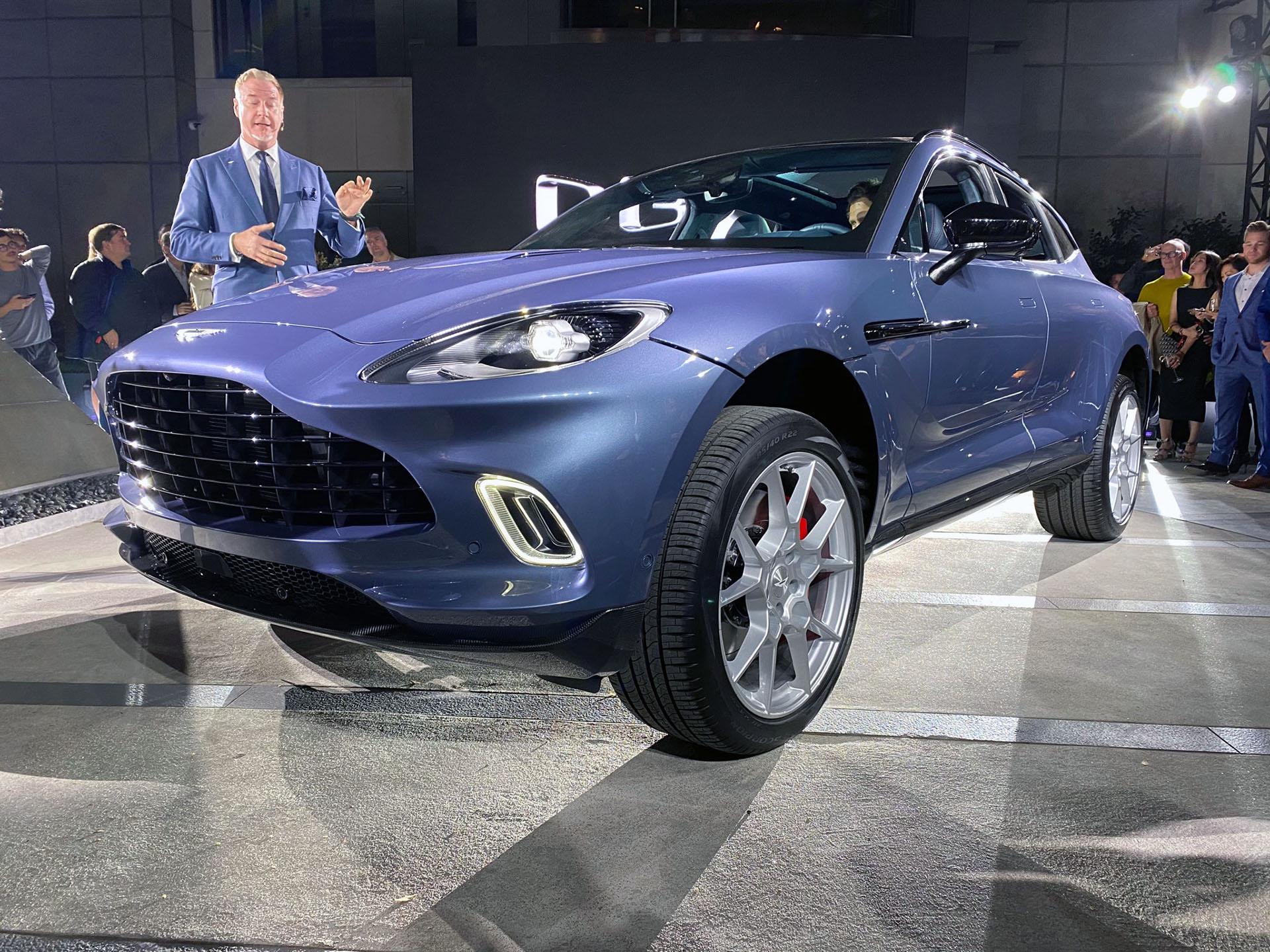 2021 Aston Martin Dbx Is A Sumptuous High Riding Sports Wagon