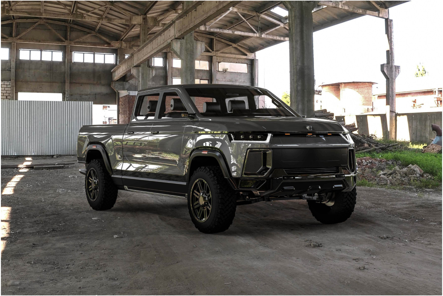 Atlis Xt 500 Mile Electric Truck To Challenge Detroit 3 S Pickup Dominance