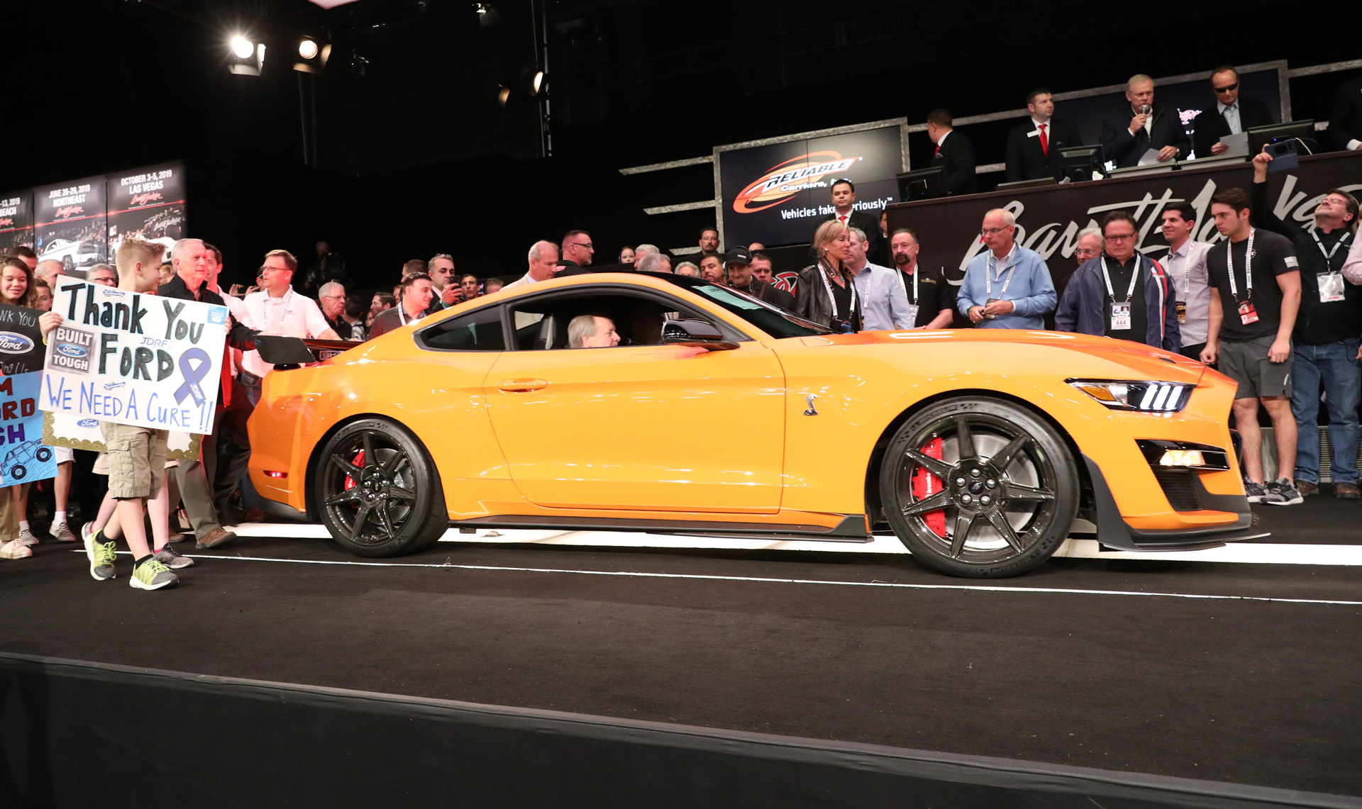 2020 ford mustang shelby gt500 001 sells for 1 1m