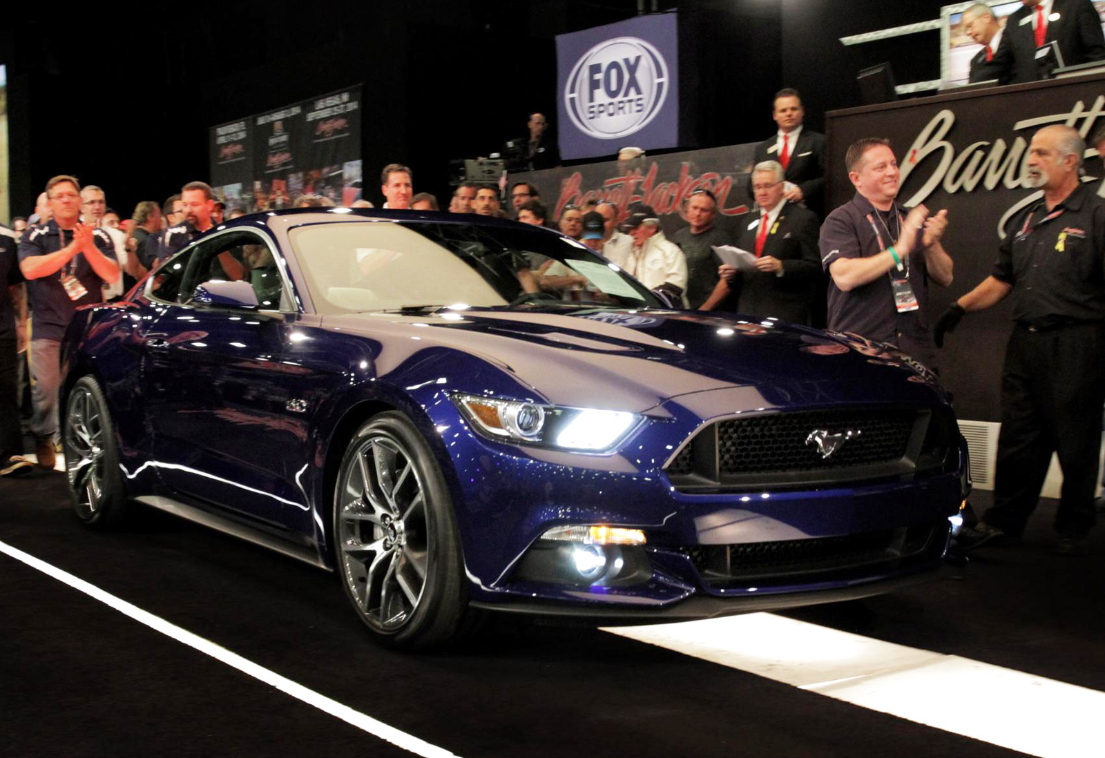 First 2015 Ford Mustang Gt Sells For 300000 At Auction Engine