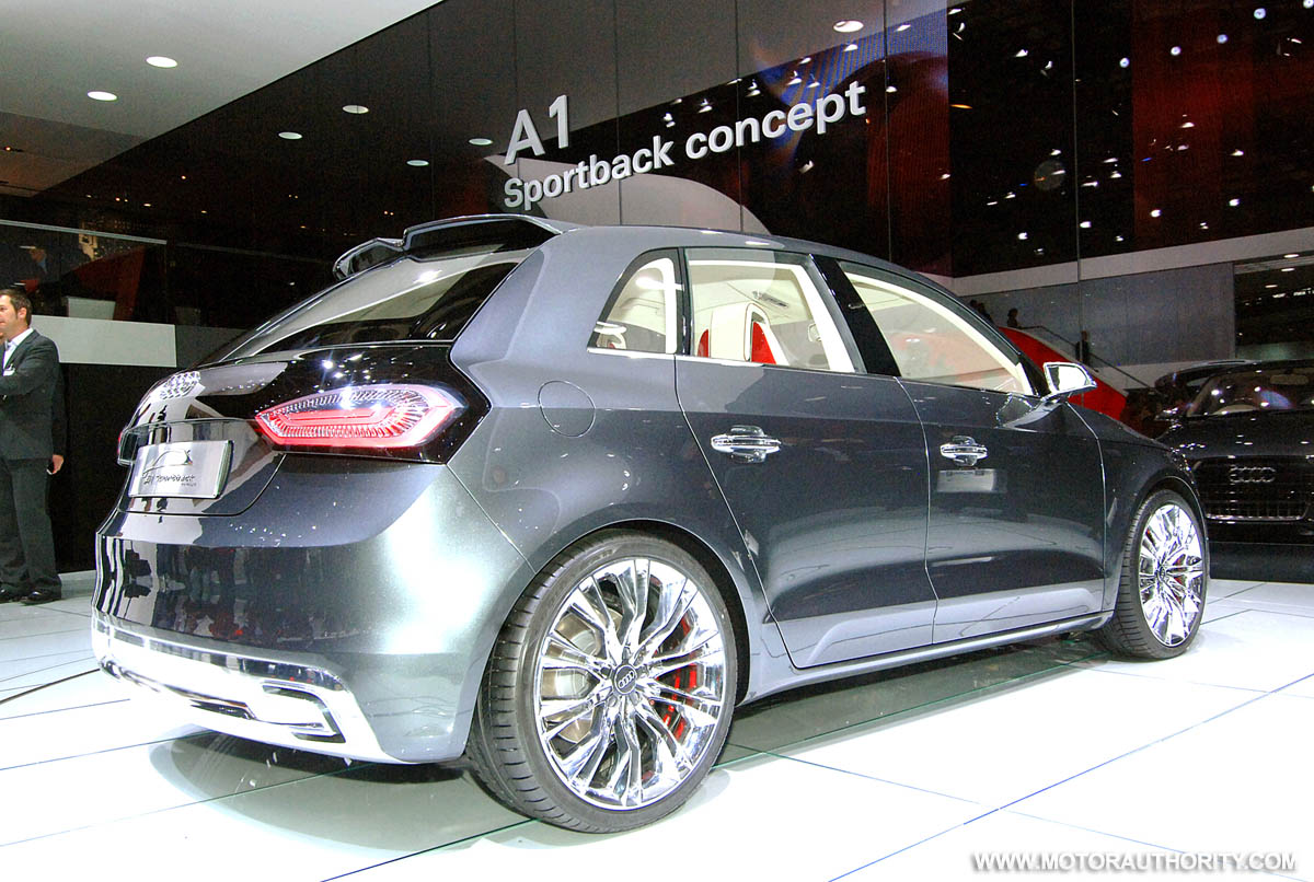 can the new audi a1 help audi reach its lofty sales goals. Black Bedroom Furniture Sets. Home Design Ideas