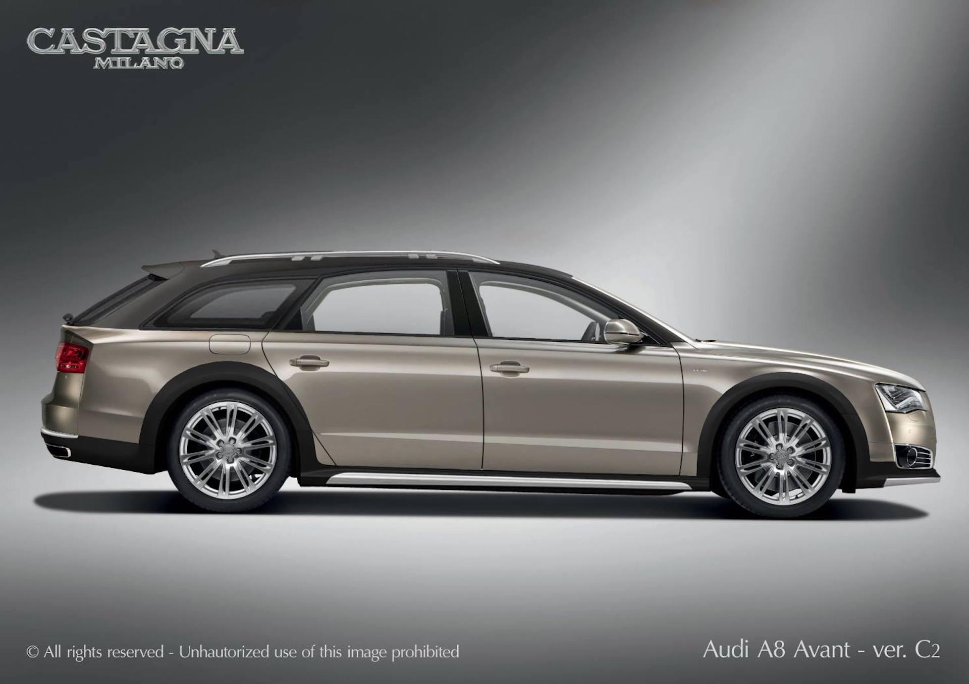 Italian coachbuilder plans Audi A8 Avant wagon