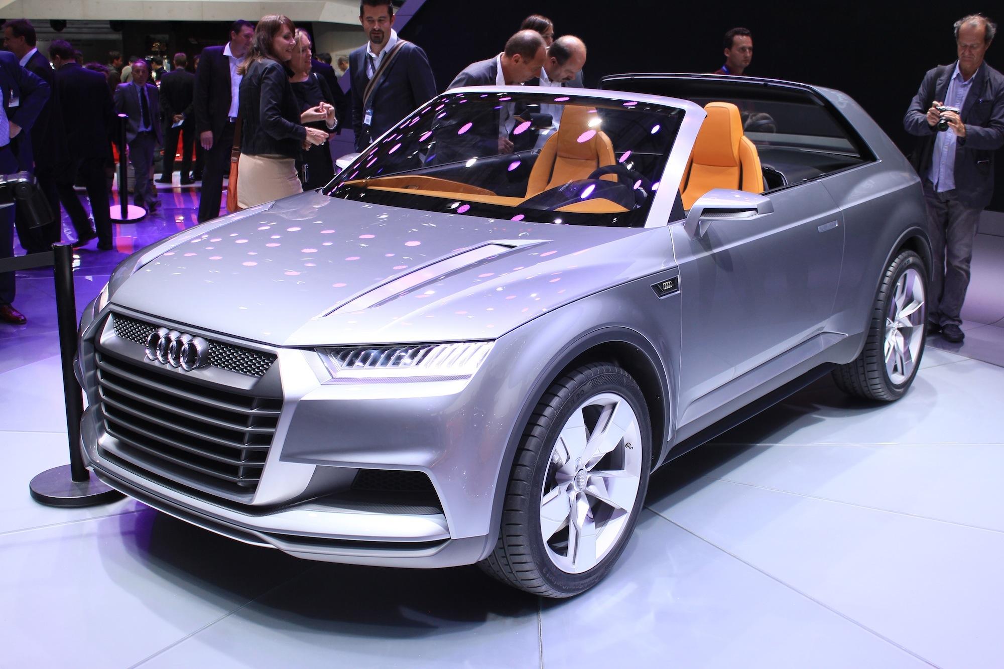 BMW Performance Driving School >> Audi Crosslane Concept Live Photos: 2012 Paris Auto Show