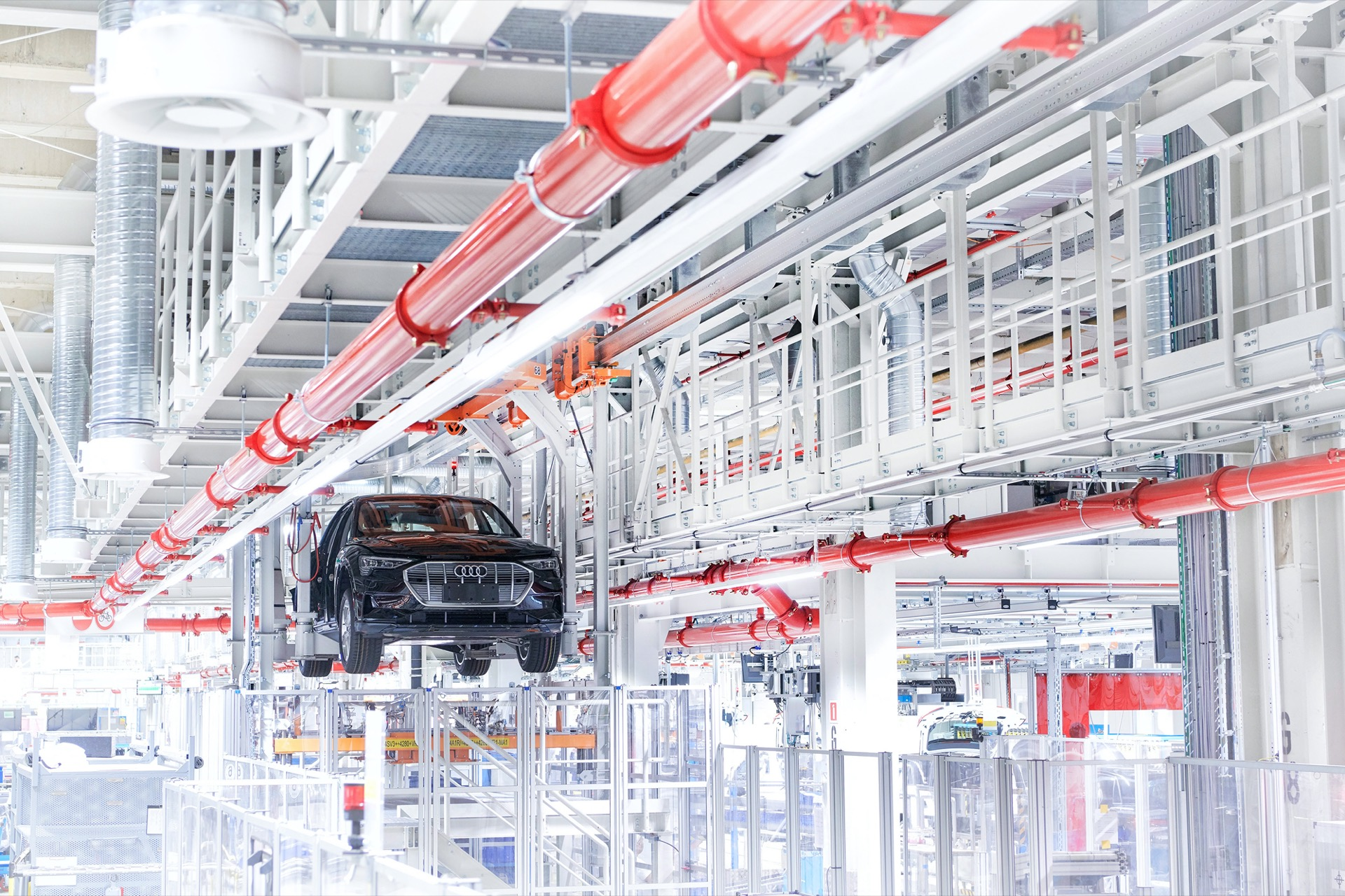 Audi E-Tron EVs add urgency to plan making production sites CO2-neutral by 2025