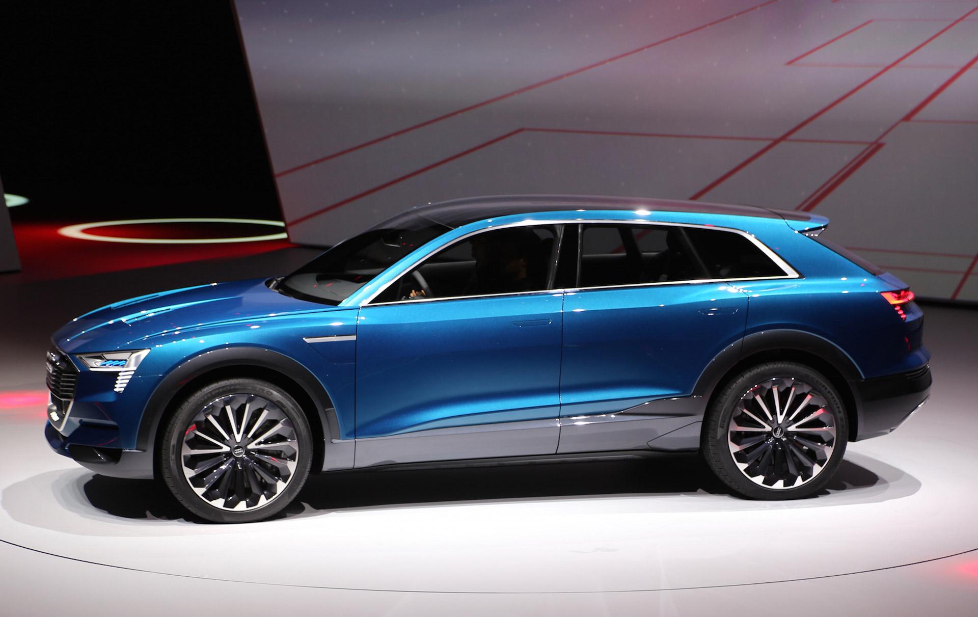 Audi San Francisco >> Audi e-tron quattro concept previews electric SUV coming in 2018