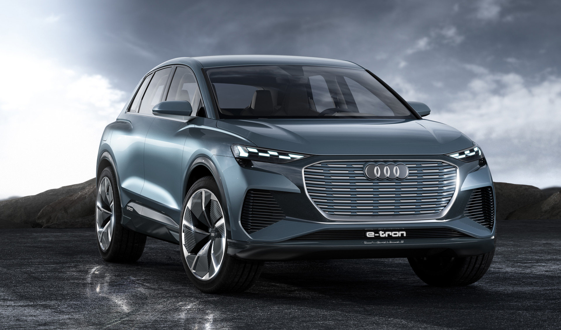 Audi Q4 E-tron to offer customization of its lights?