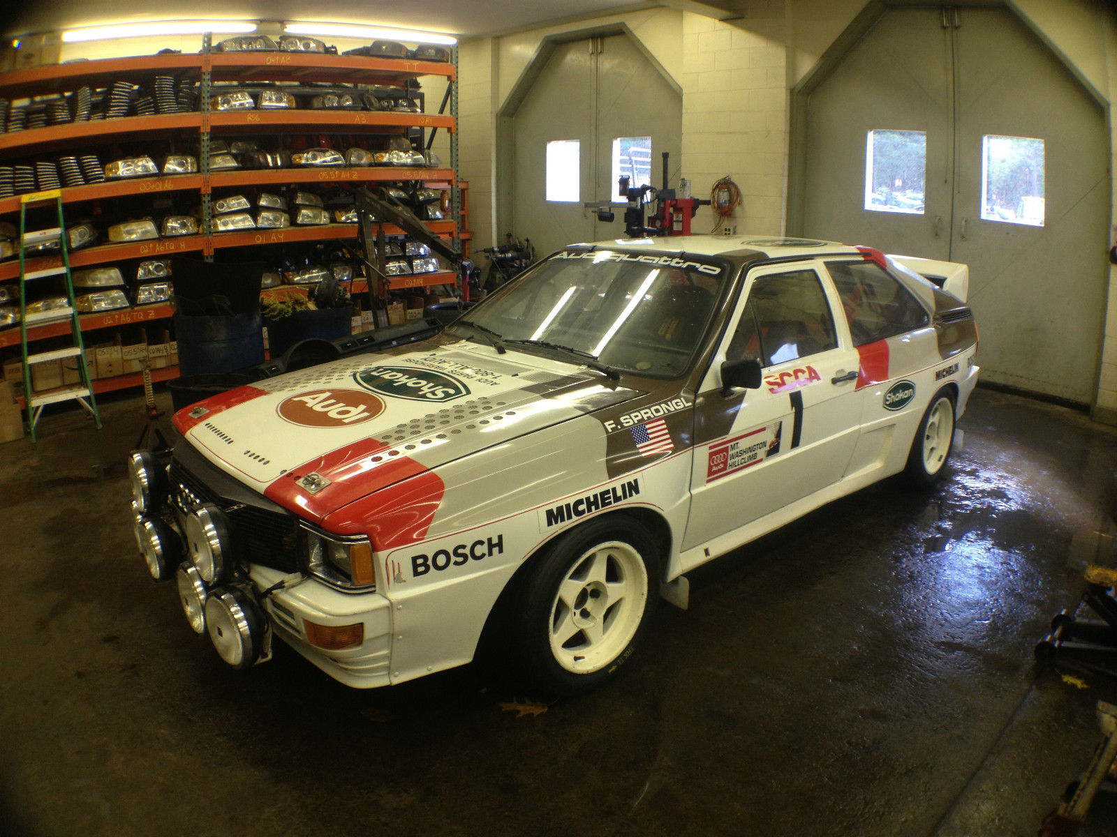 Factory Built Sterling Kit Car For Sale On Ebay: Factory-Built Audi Quattro Group B Rally Car For Sale