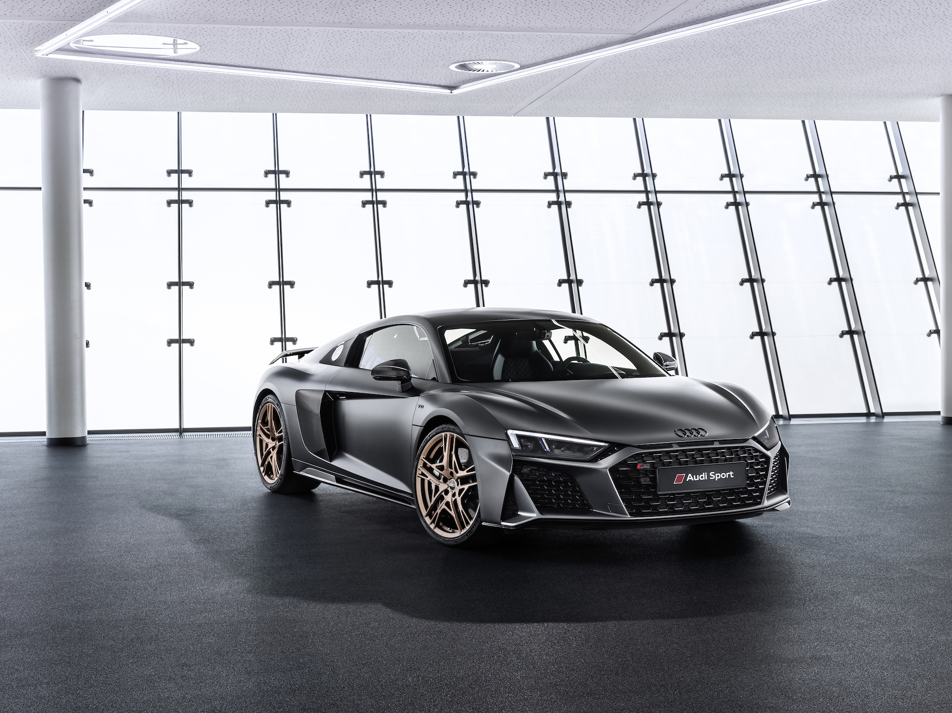 Audi R8 Decennium Rings In 10 Years Of The V 10 Engine